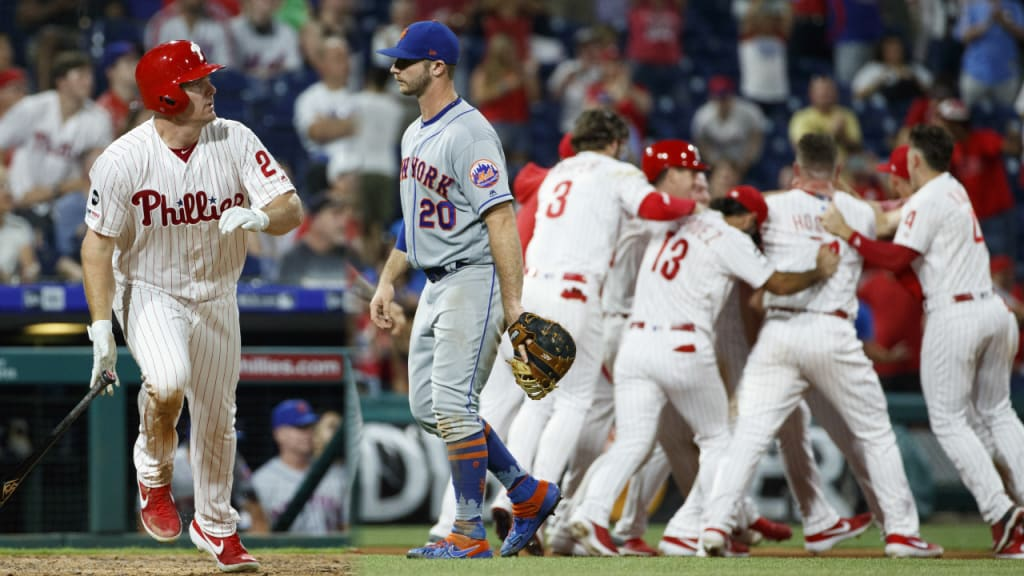 Mets lose late in Philly, on verge of being swept in fourth game tonight