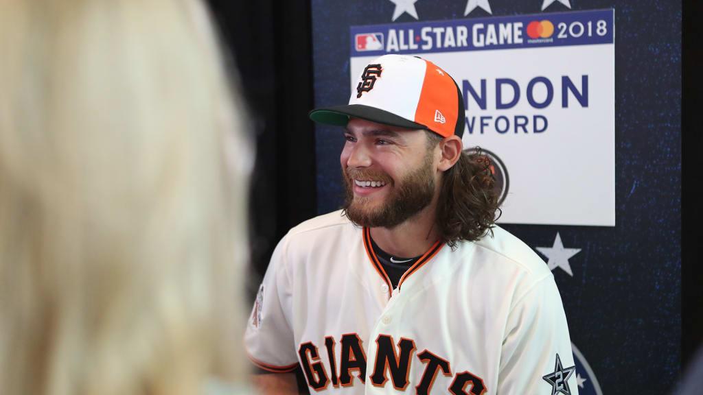 Brandon Crawford San Francisco Giants Spring Training Baseball Player Jersey