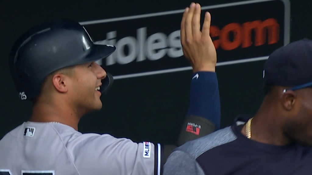 Yankees sweep Orioles in Camden after 9th inning walk