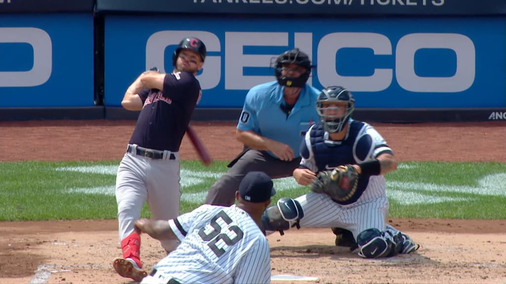 Indians take down Yankees on Sunday, 8-4