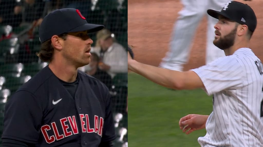 Lucas Giolito, Shane Bieber have epic pitchers' duel