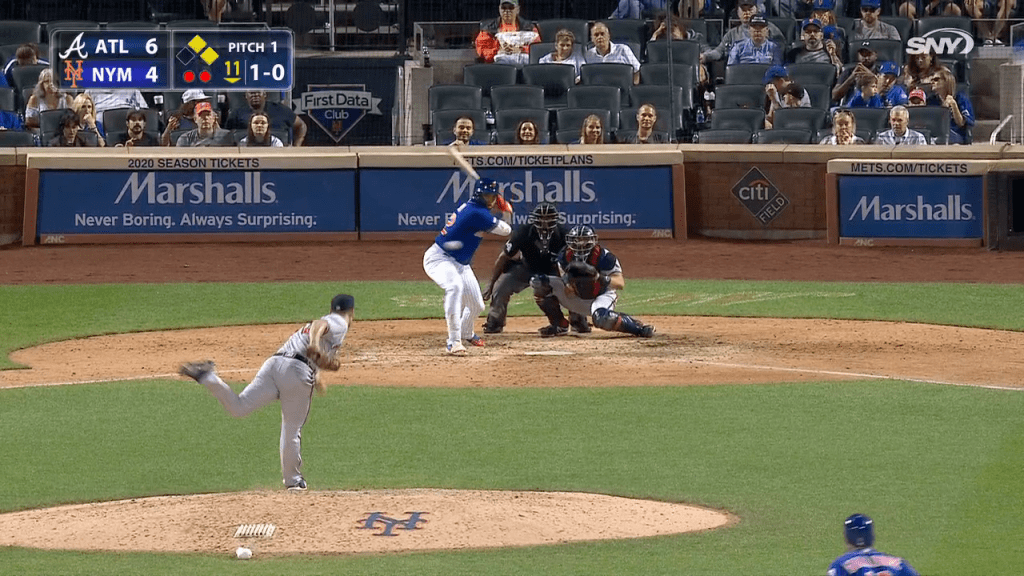 Walk-off home run lifts Mets over Braves