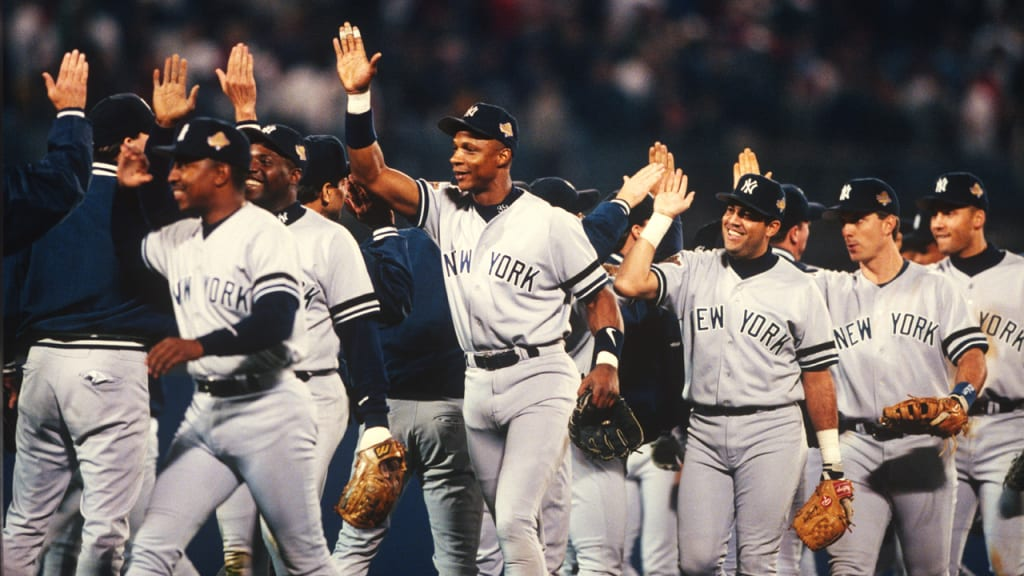 """Twenty years later, Darryl Strawberry remains proud to have been part of the 1996 championship team. """"To not only win the World Series in New York, but to win it with a franchise that has such a storied tradition and great history is something that is special."""" (New York Yankees)"""