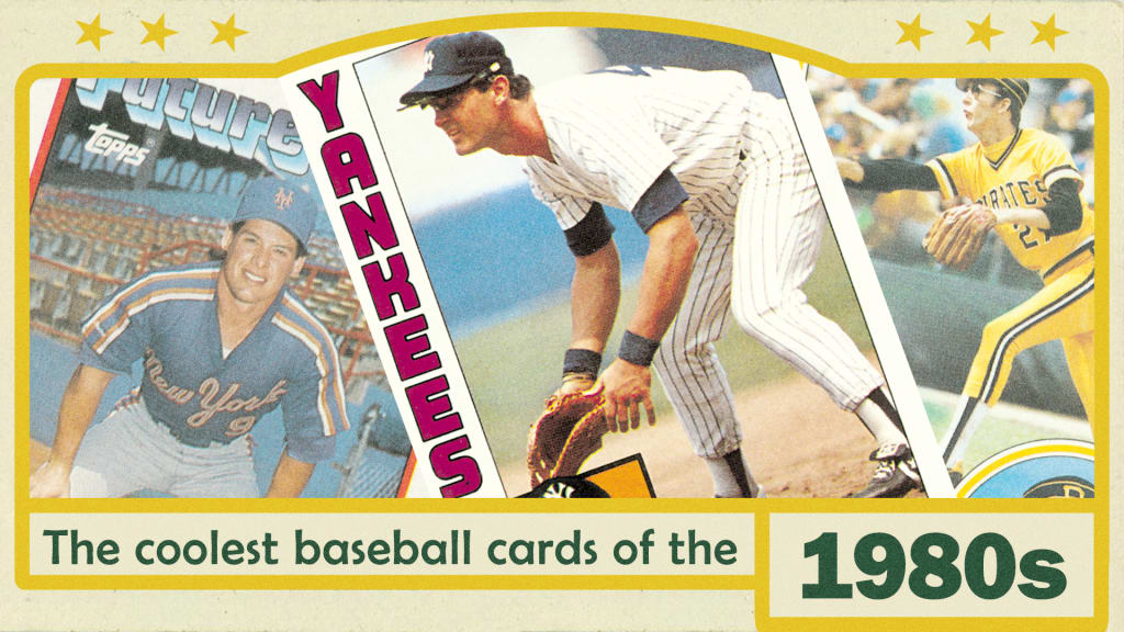 The Single Best Topps Baseball Card From Each Year The 1980s Mlbcom