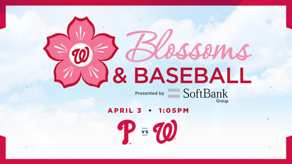 Nationals blossoms ticket special