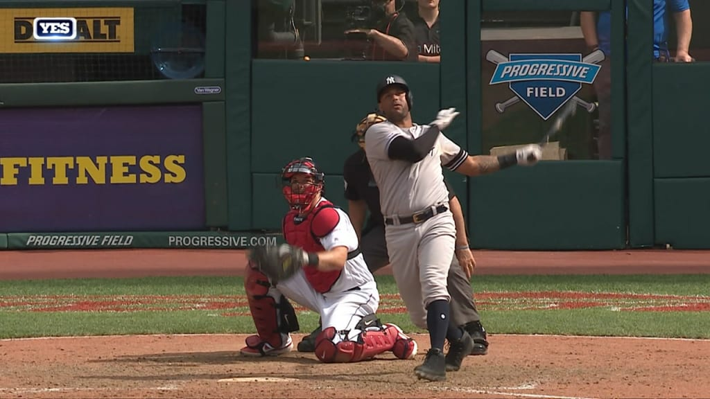 Yankees hang on to edge Cleveland in 10th