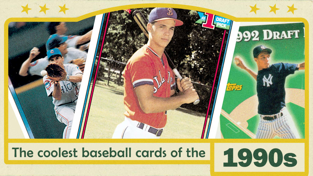 The Single Best Topps Baseball Card From Each Year The 1990s Mlbcom