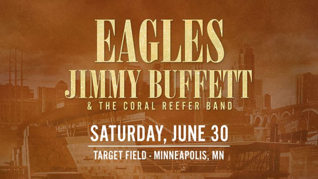 Target Field to host Eagles, Jimmy Buffett | MLB com