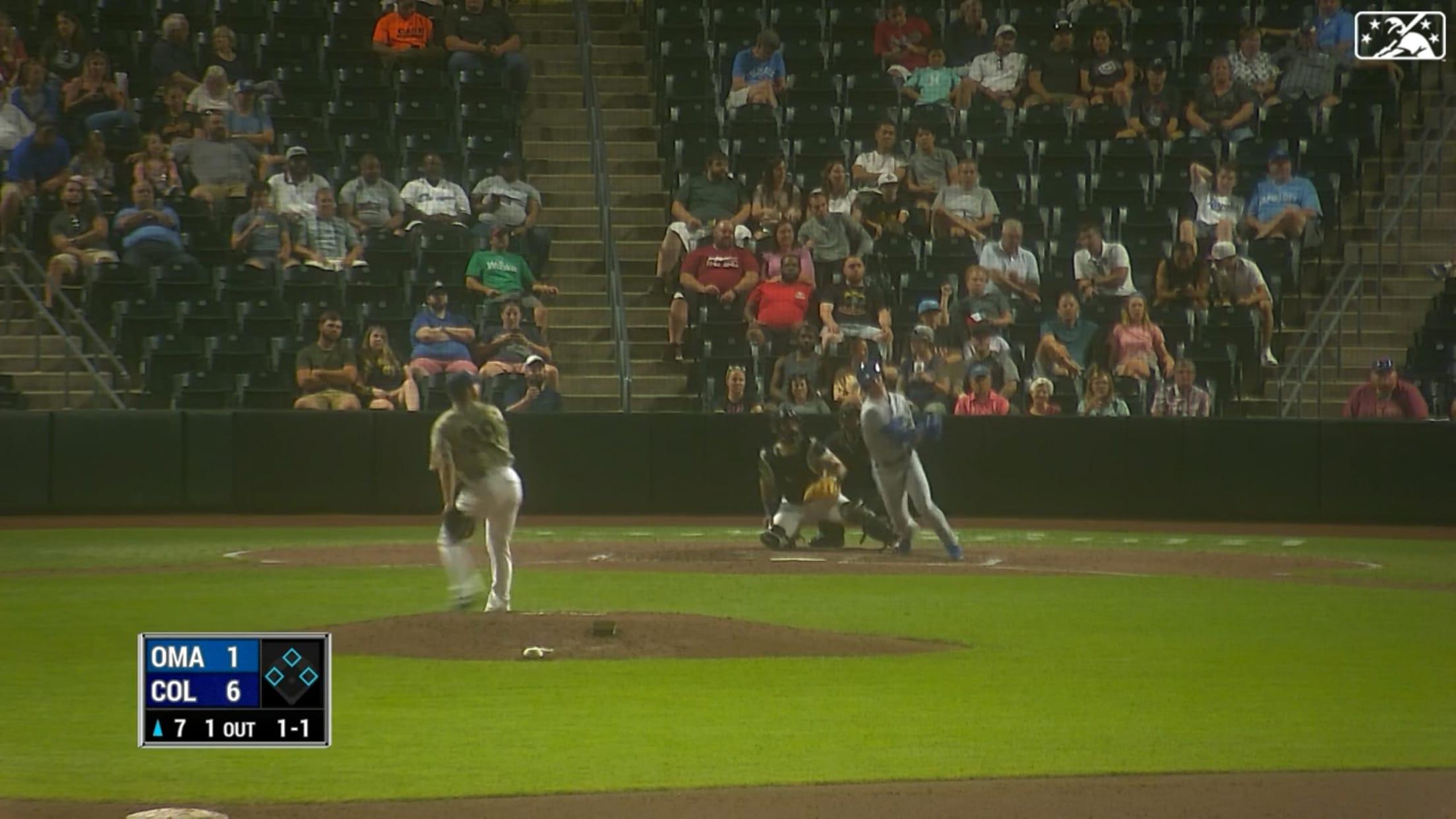 Bobby Whit Jr.'s solo homer