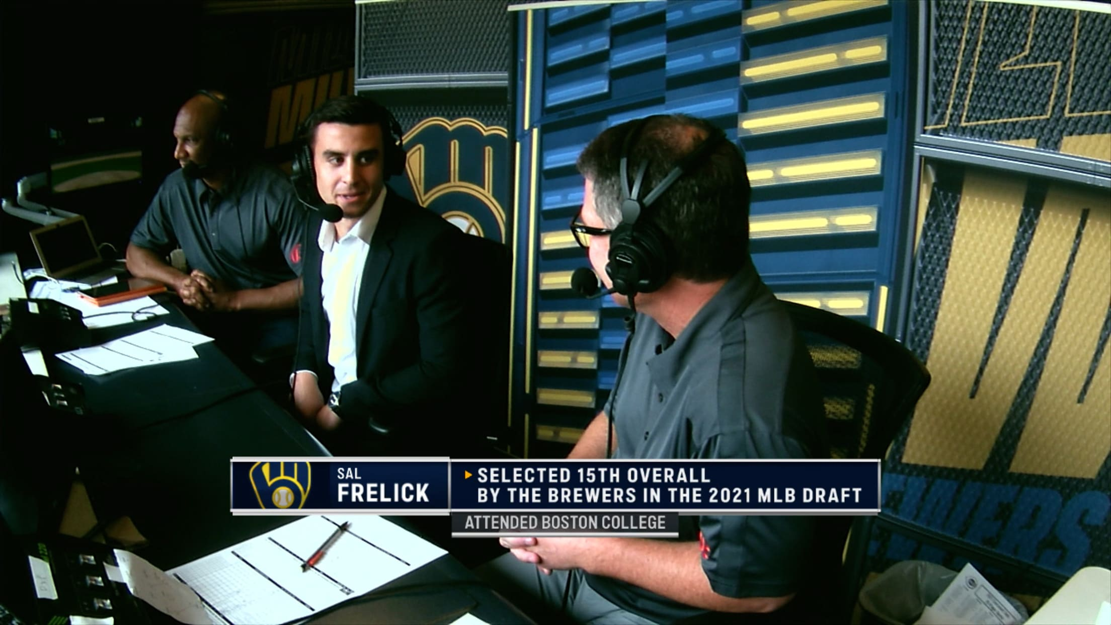 Sal Frelick joins the booth