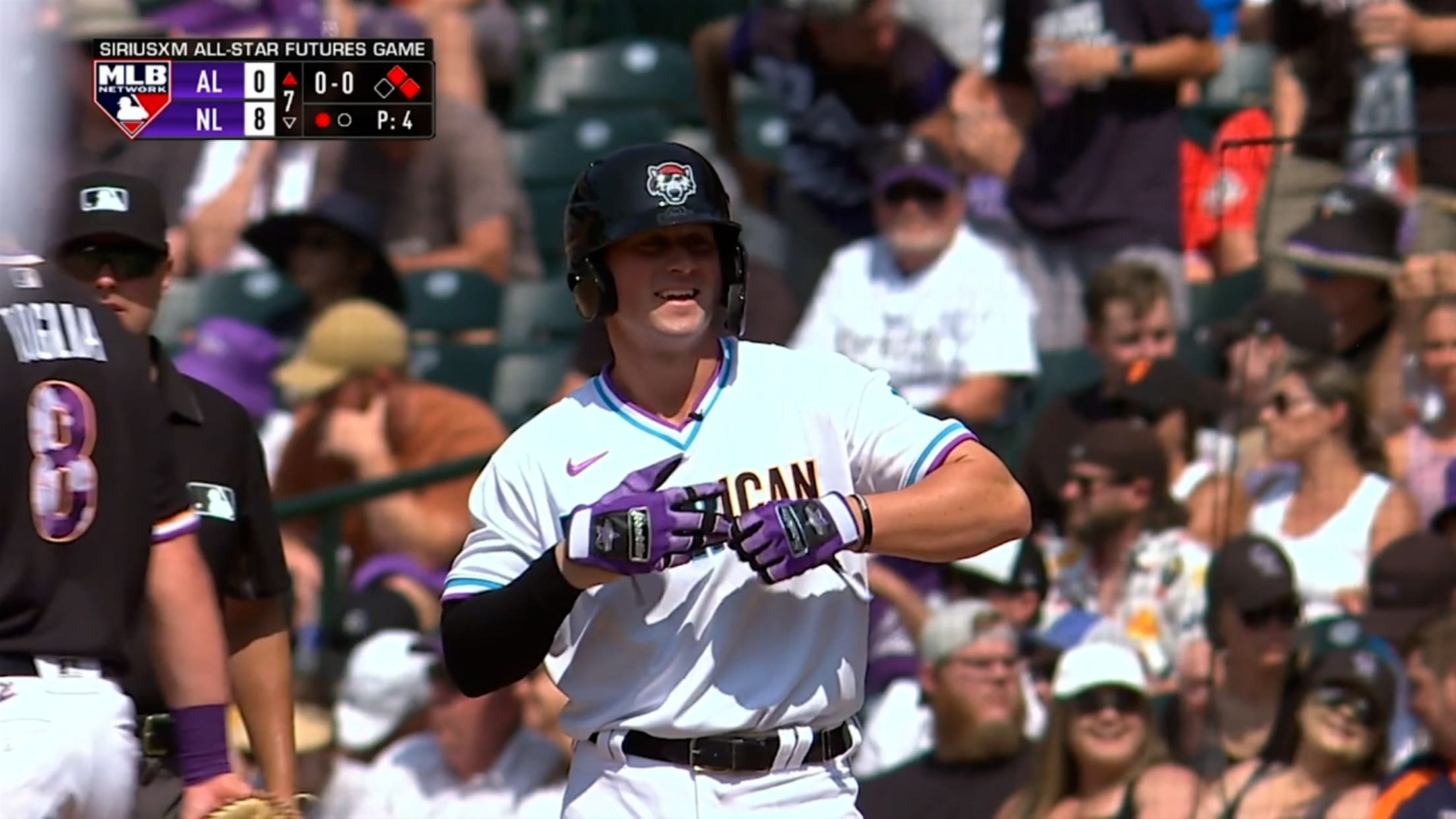Tigers shine in the Futures Game