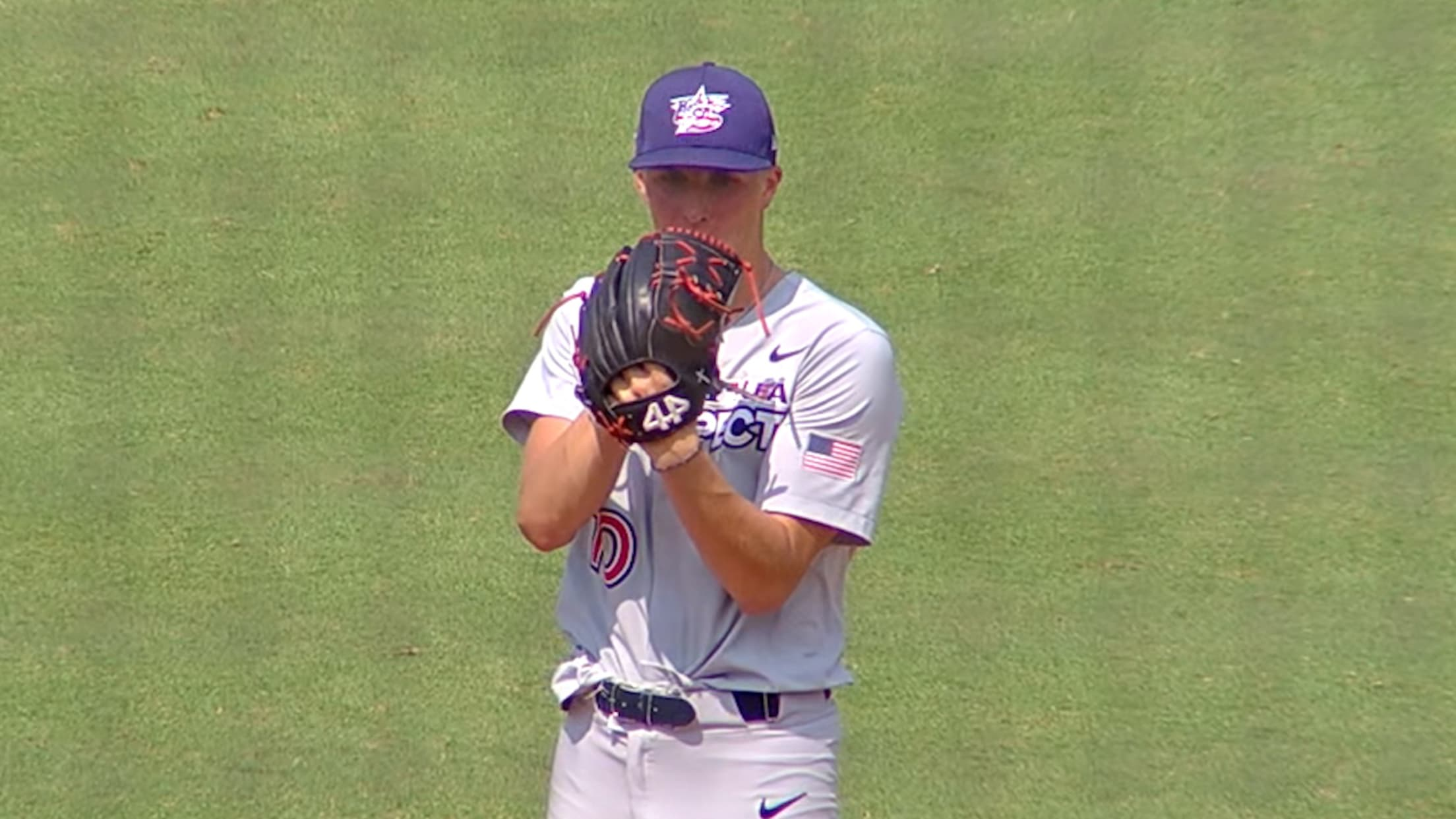 Brock Porter's two strikeouts