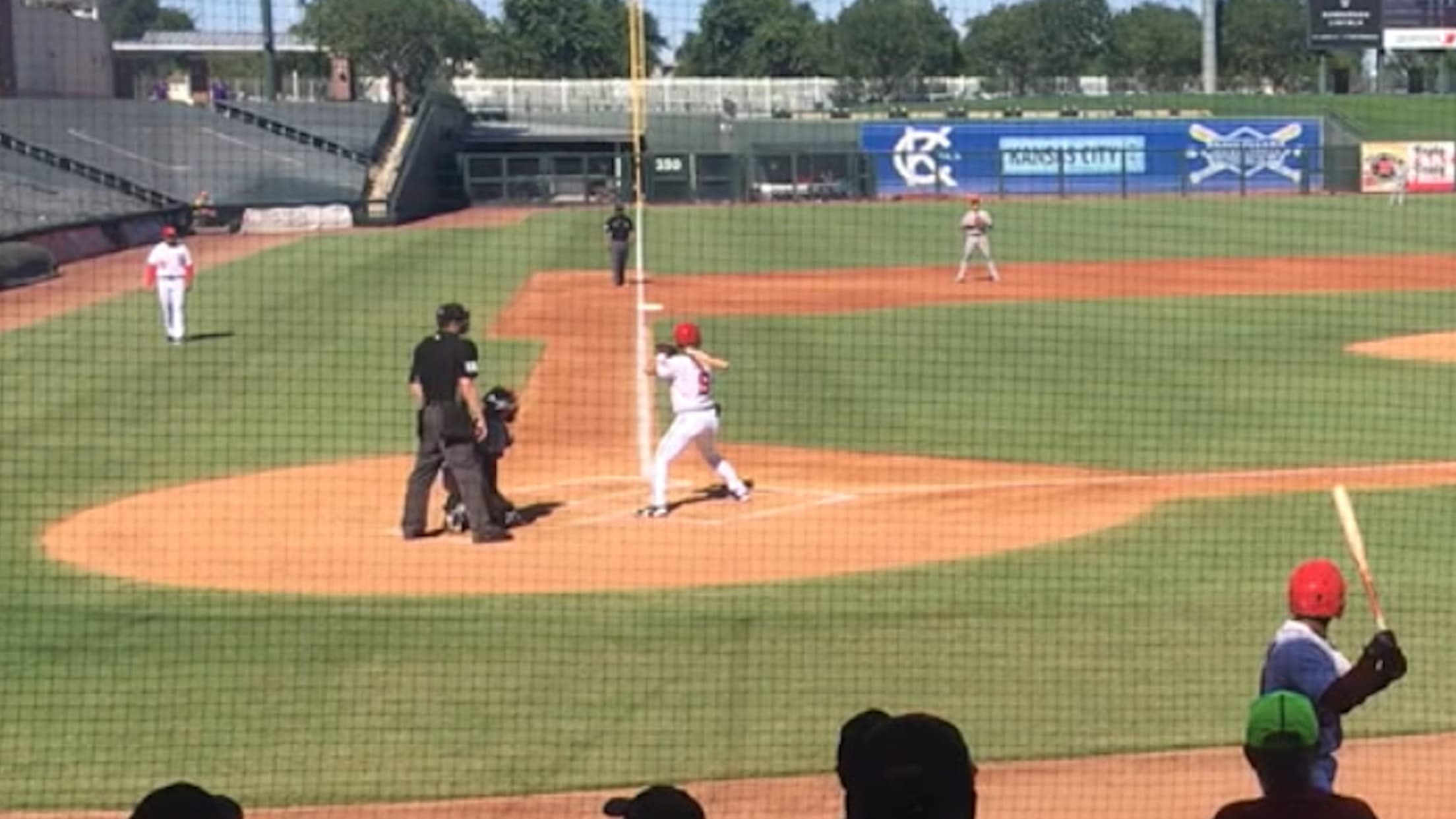 Jackson Cluff towers a home run