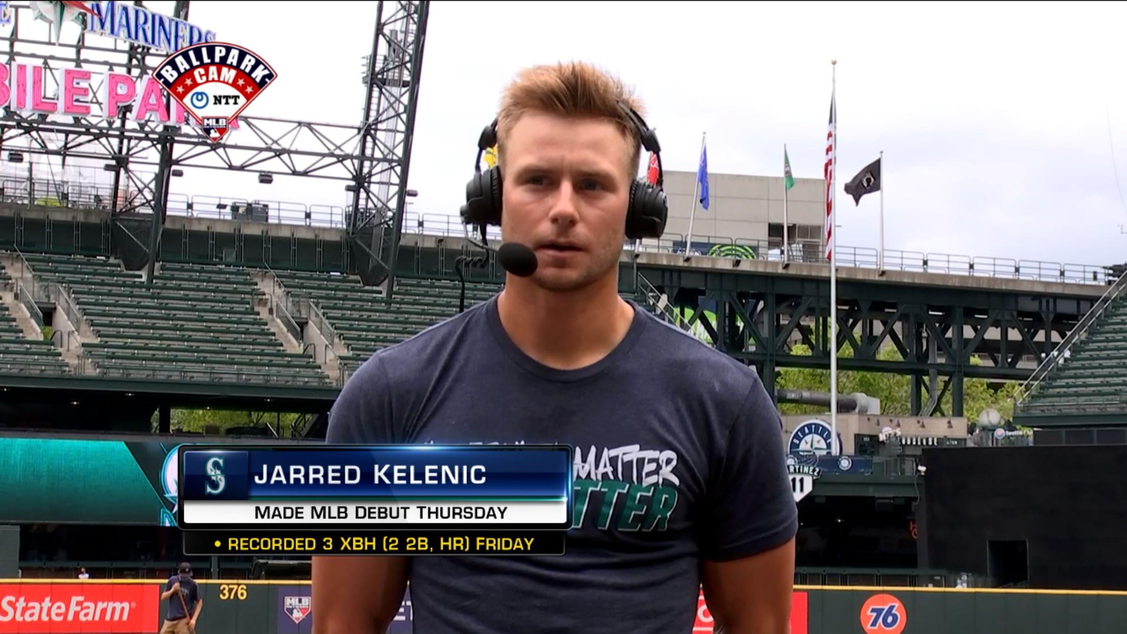 Jarred Kelenic on 1st hit, debut