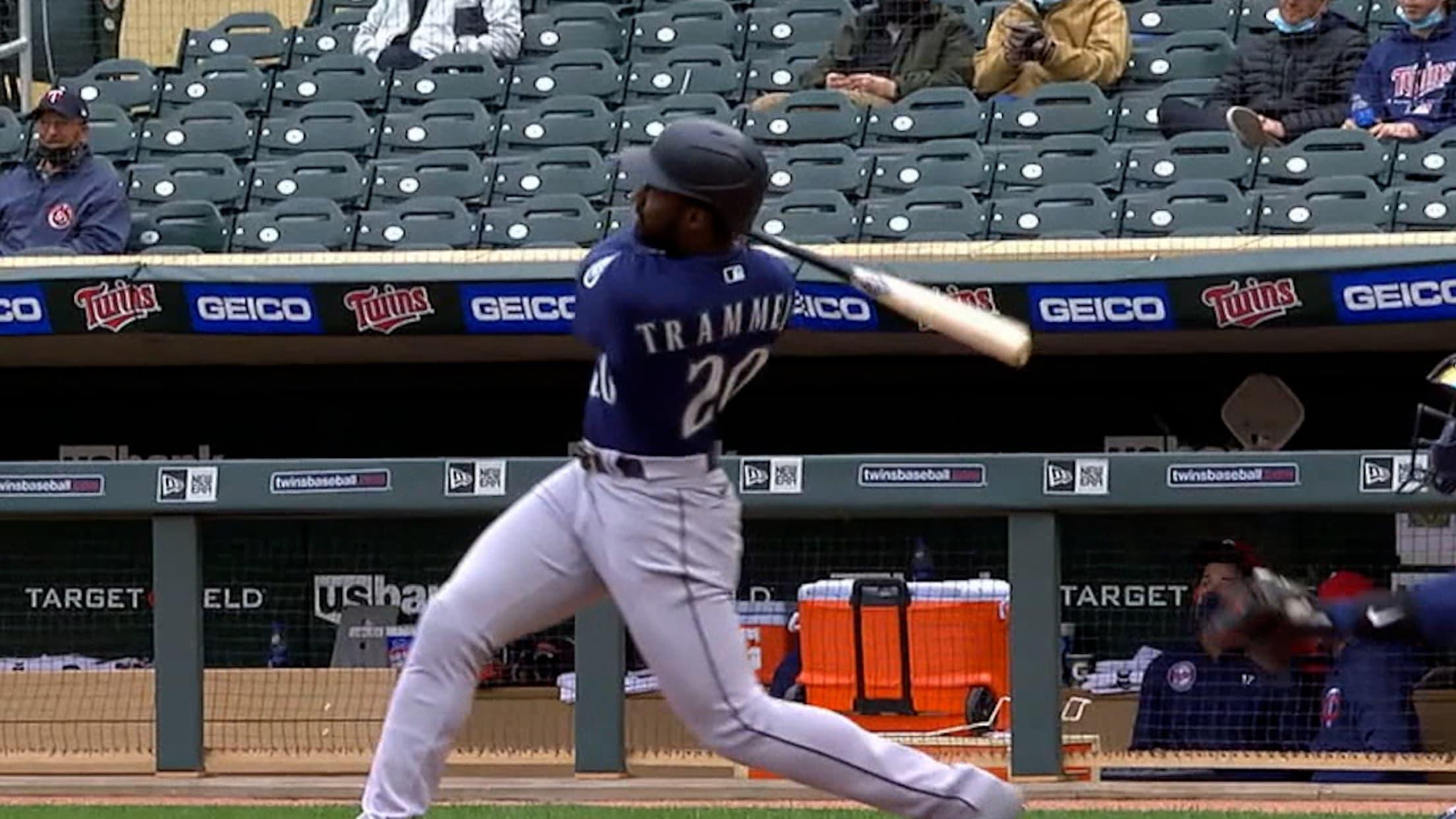 Trammell's first career home run