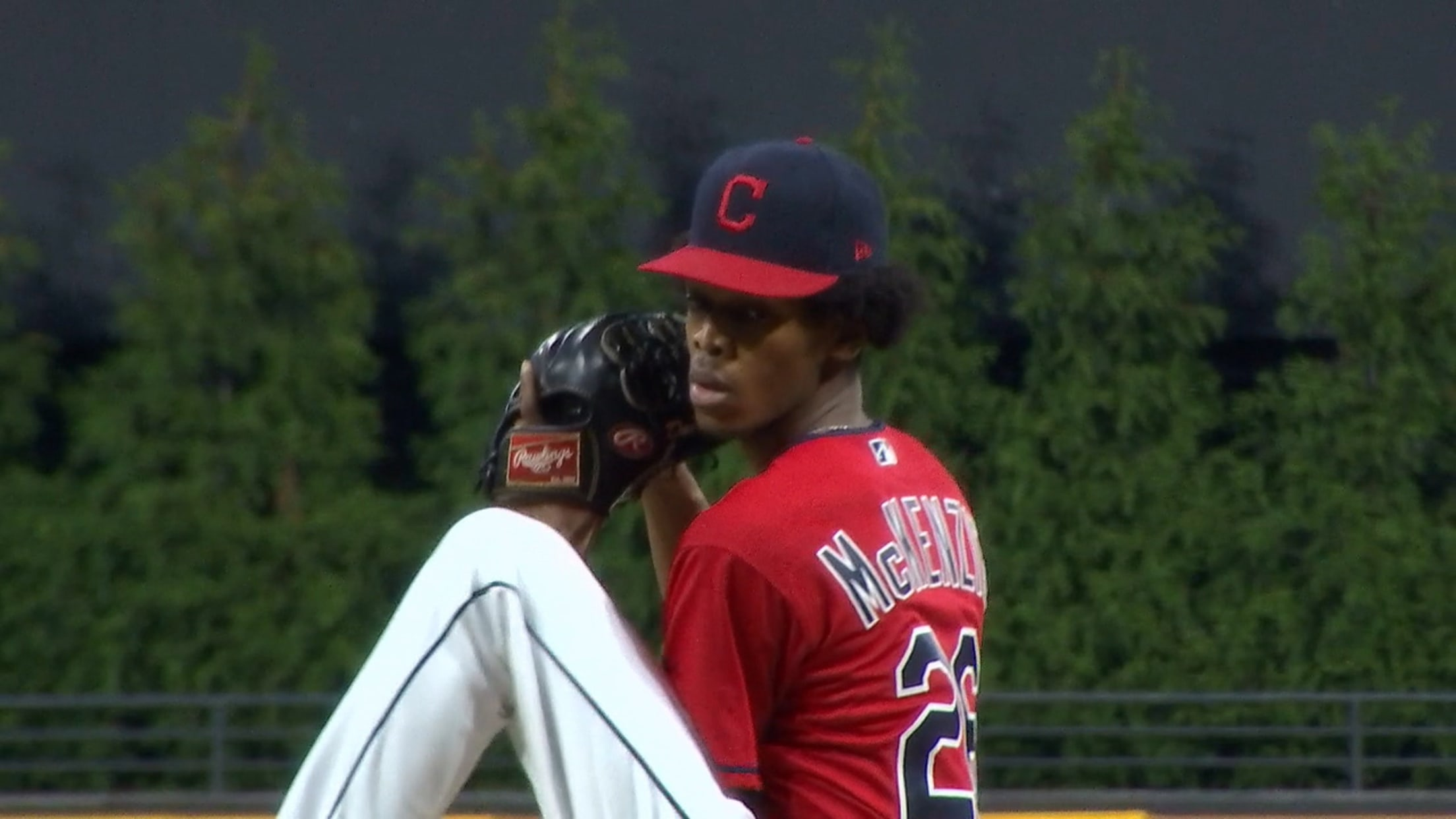 Triston McKenzie sharp in relief