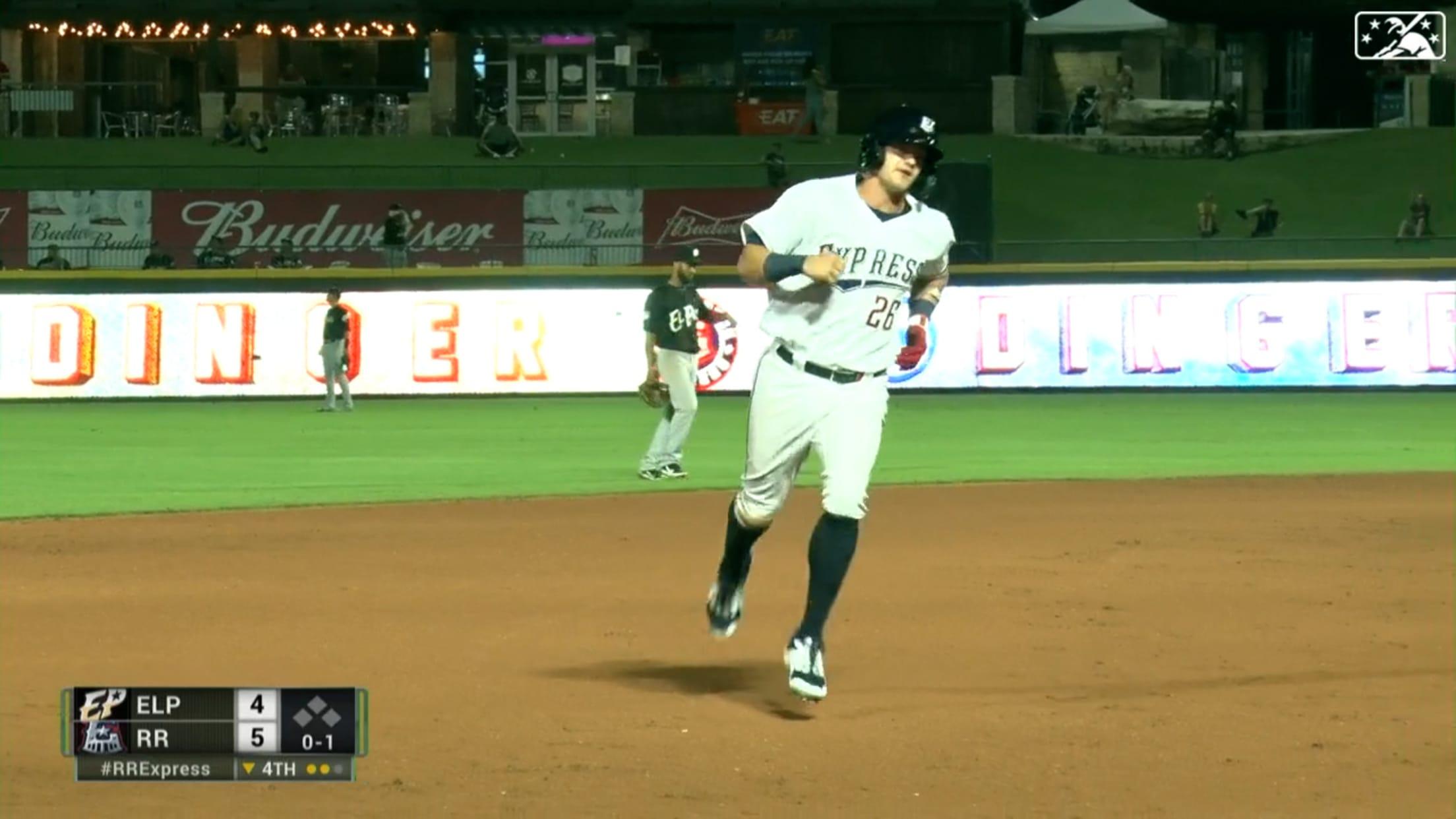 Jung hits first Triple-A homer