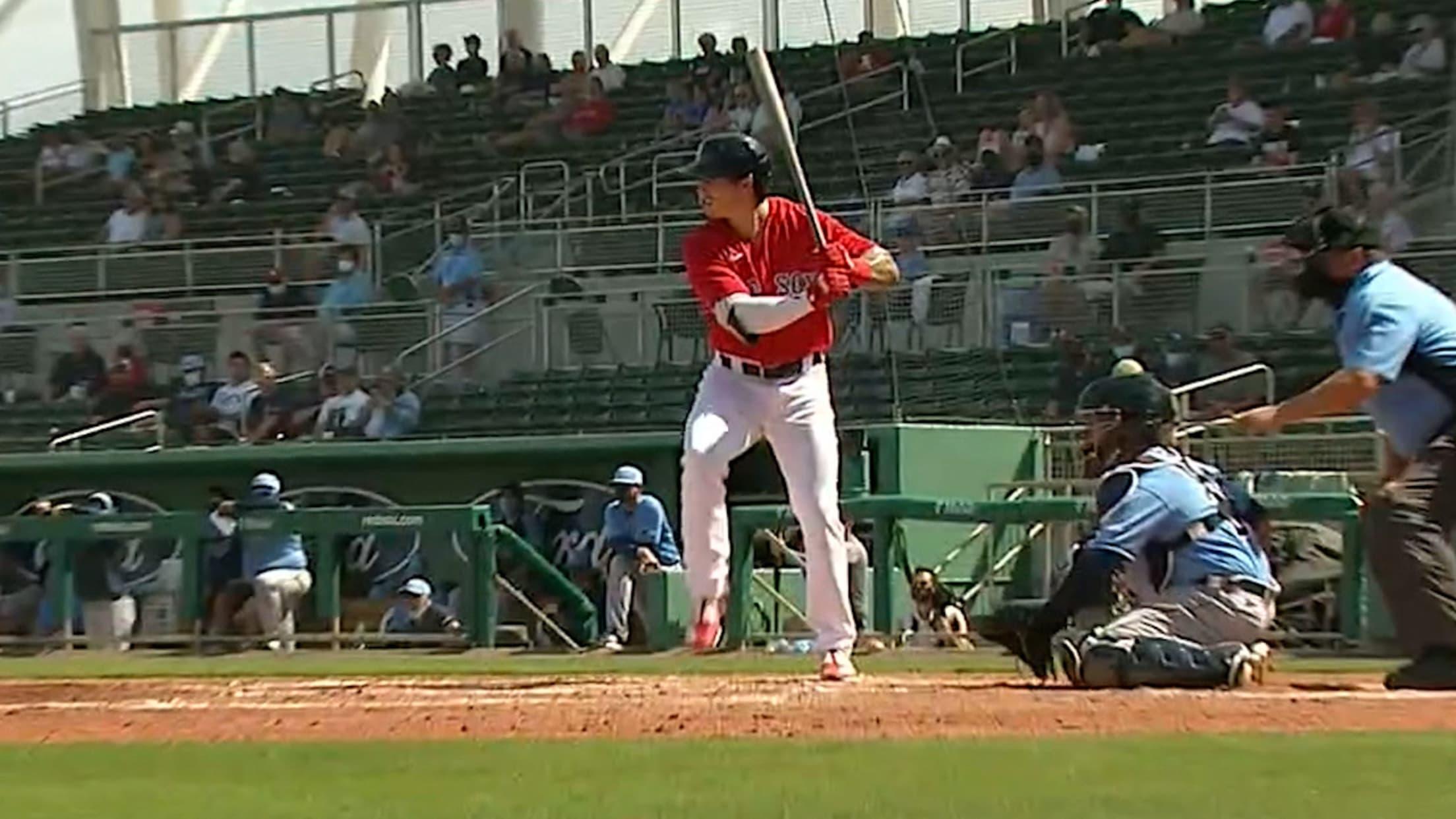 Jarren Duran's solo home run