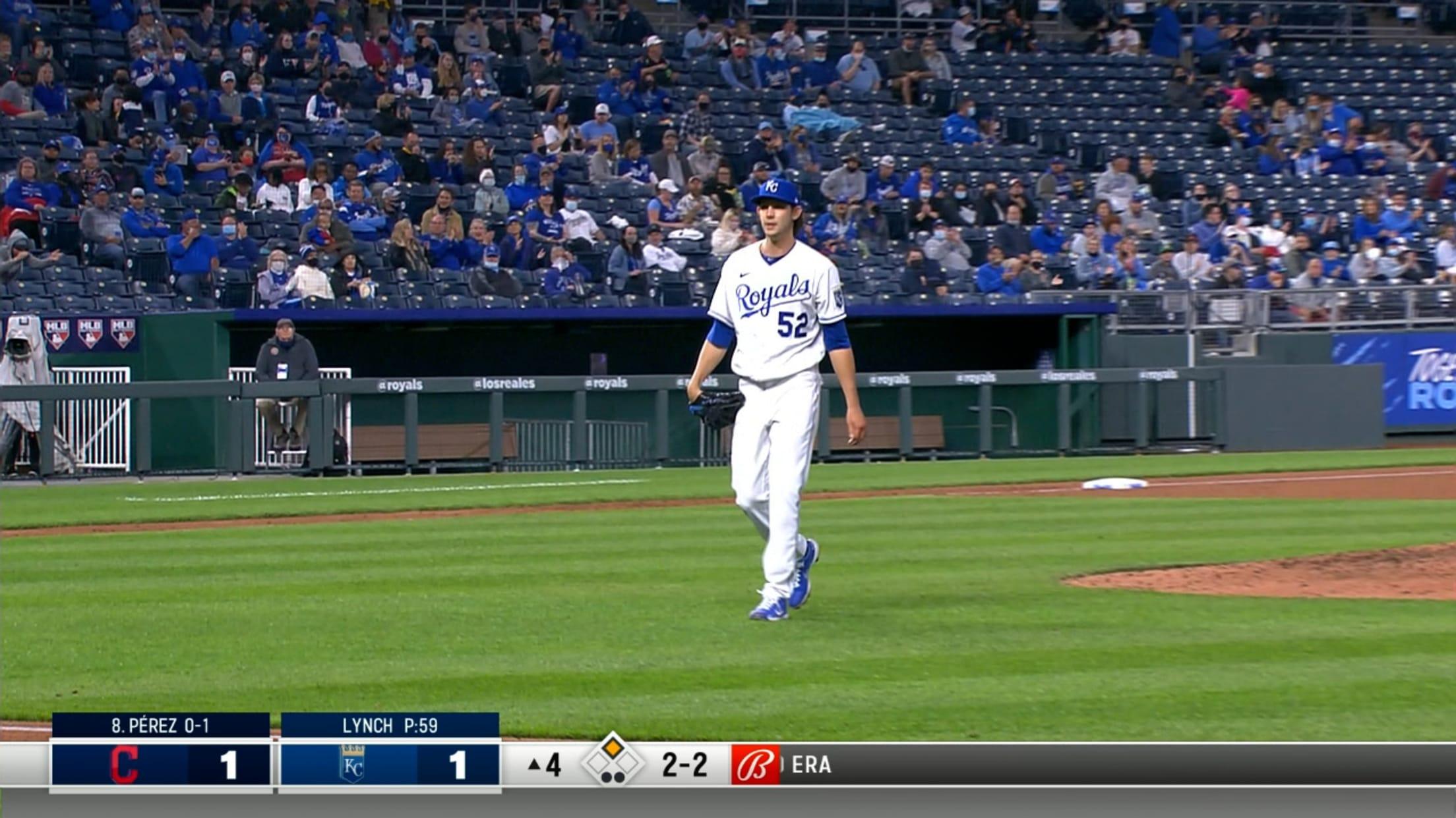 Daniel Lynch's MLB debut