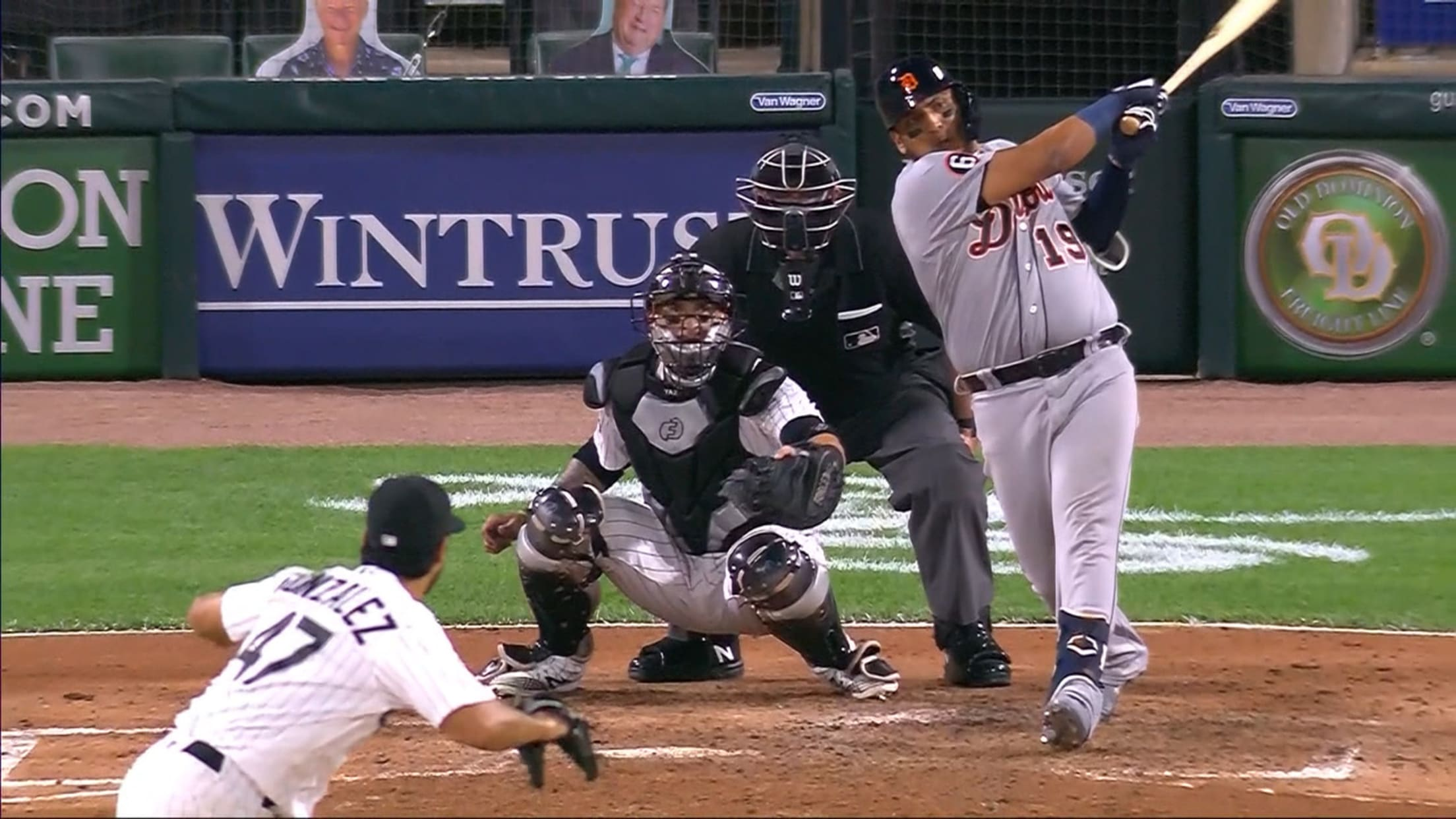 Isaac Paredes' first MLB hit, RBI