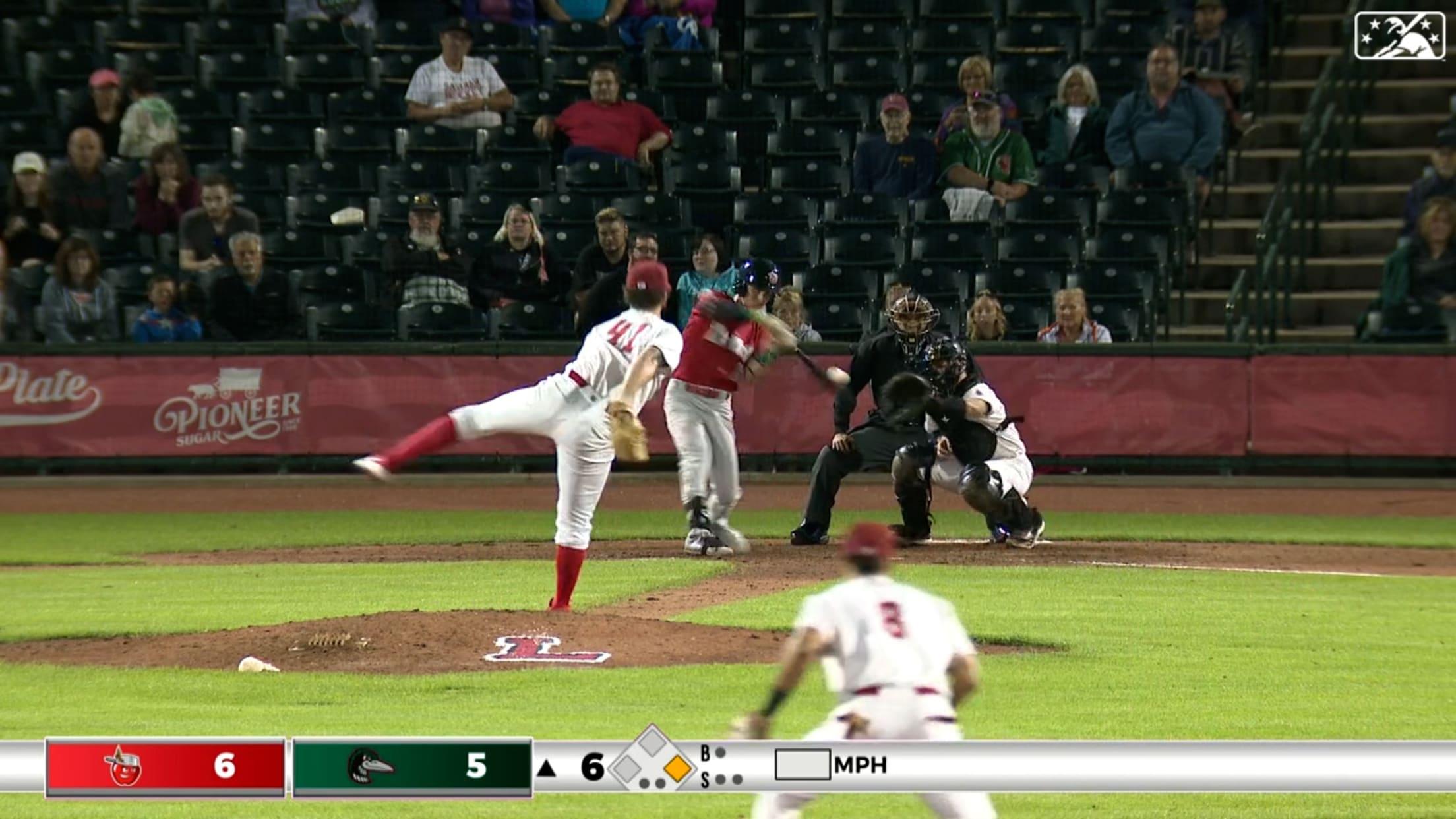 Hassell slugs two home runs