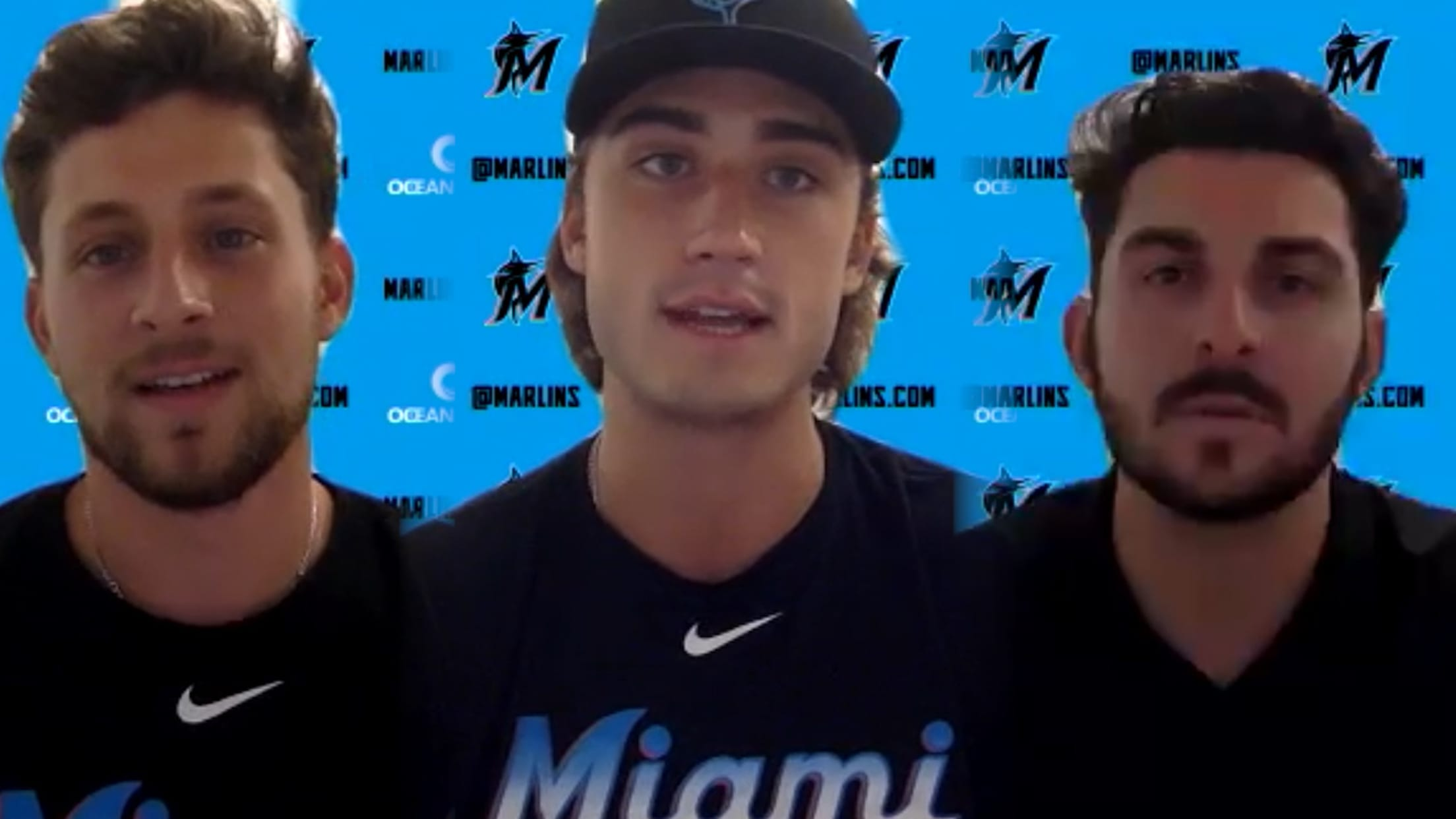 Young Marlins on making roster