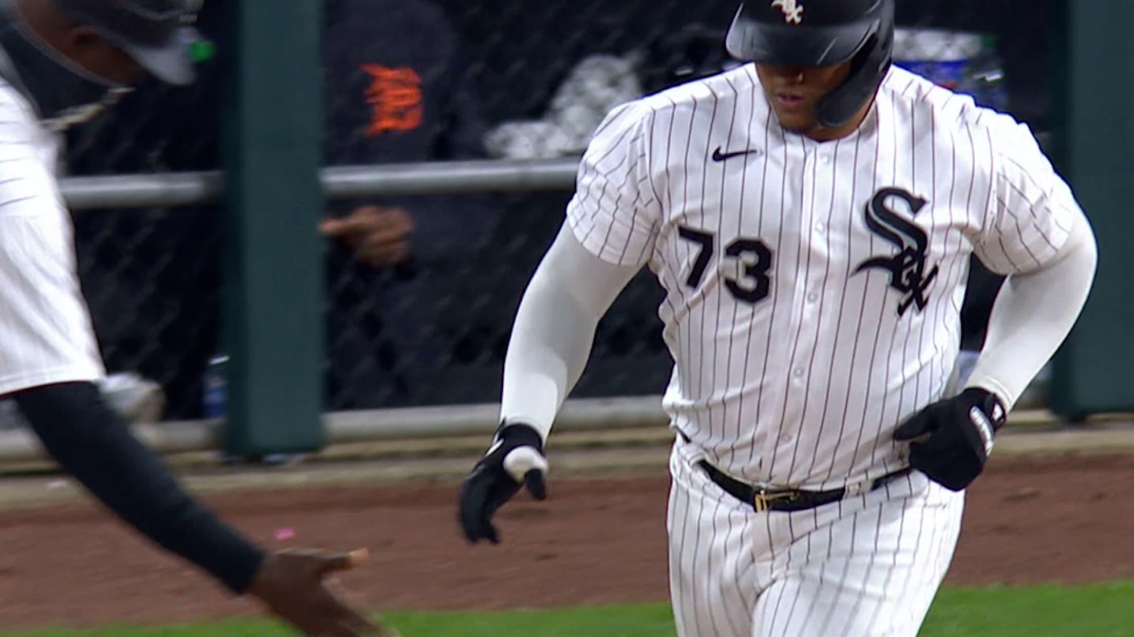 Yermín Mercedes' solo home run