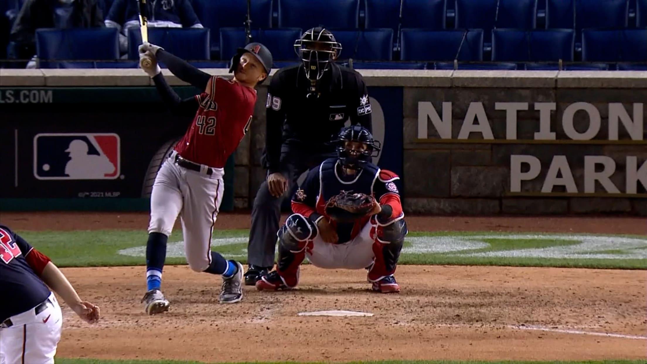 Pavin Smith's solo home run