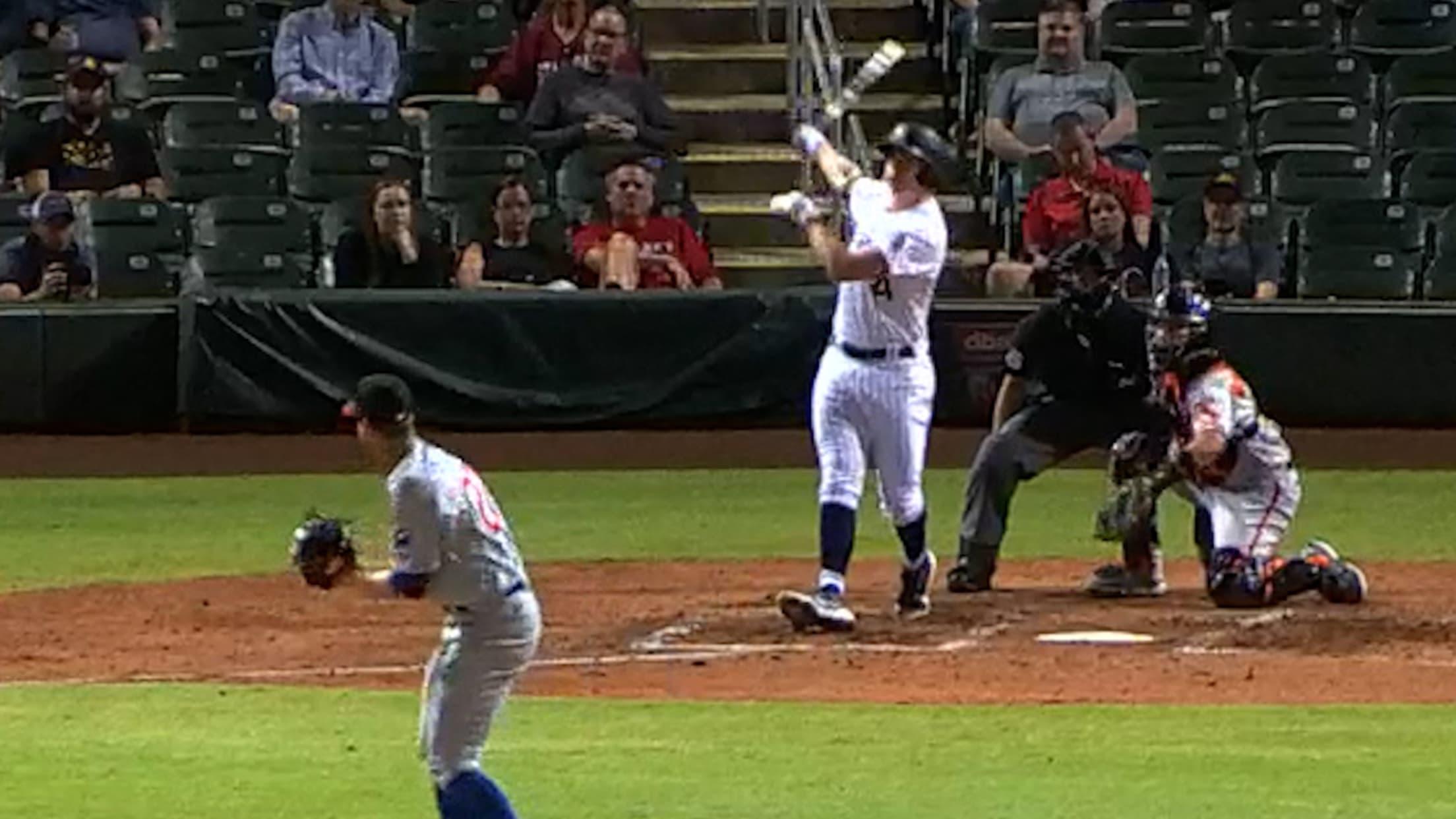 Michael Toglia's two-run home run