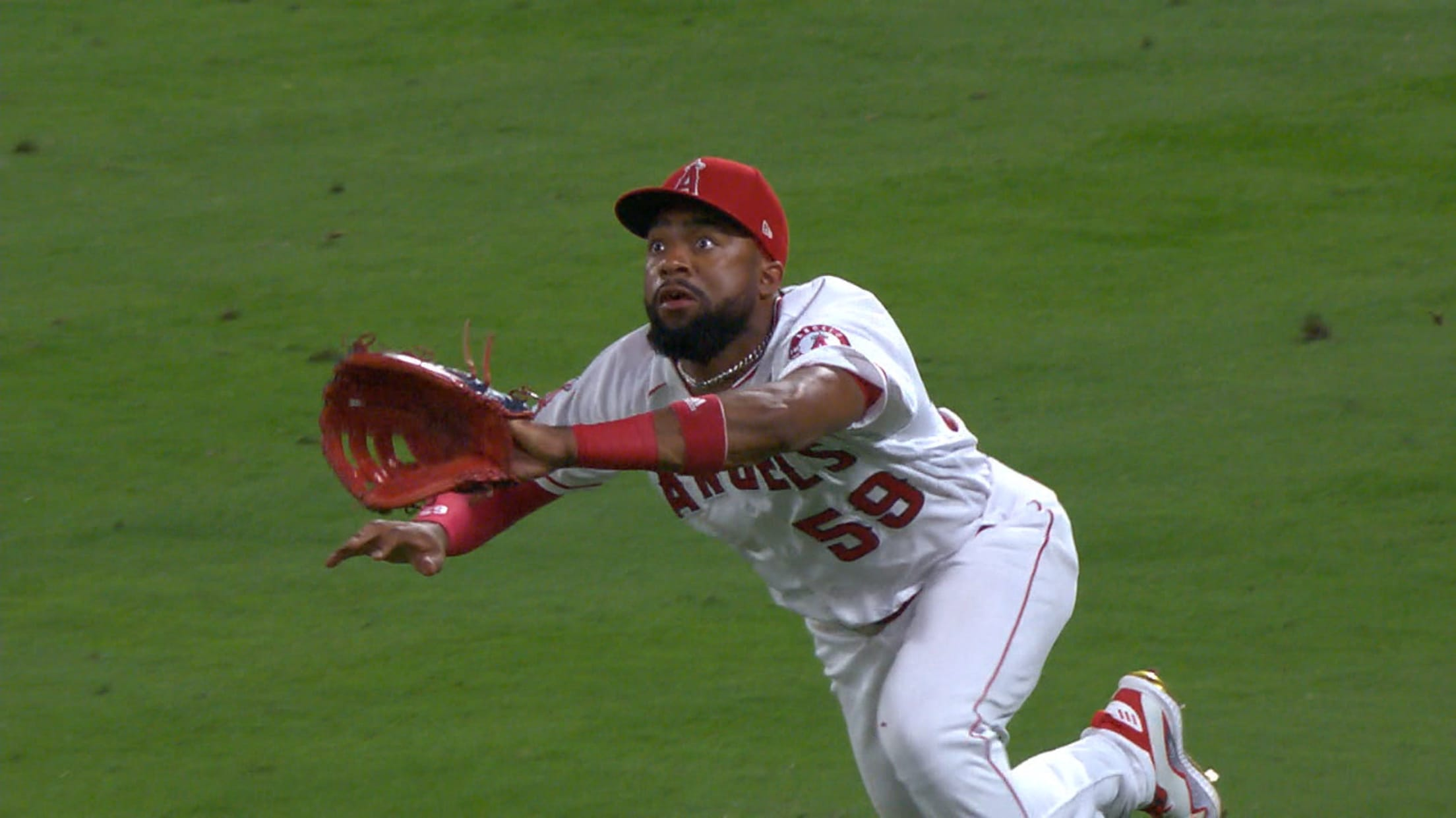 Jo Adell's awesome dive