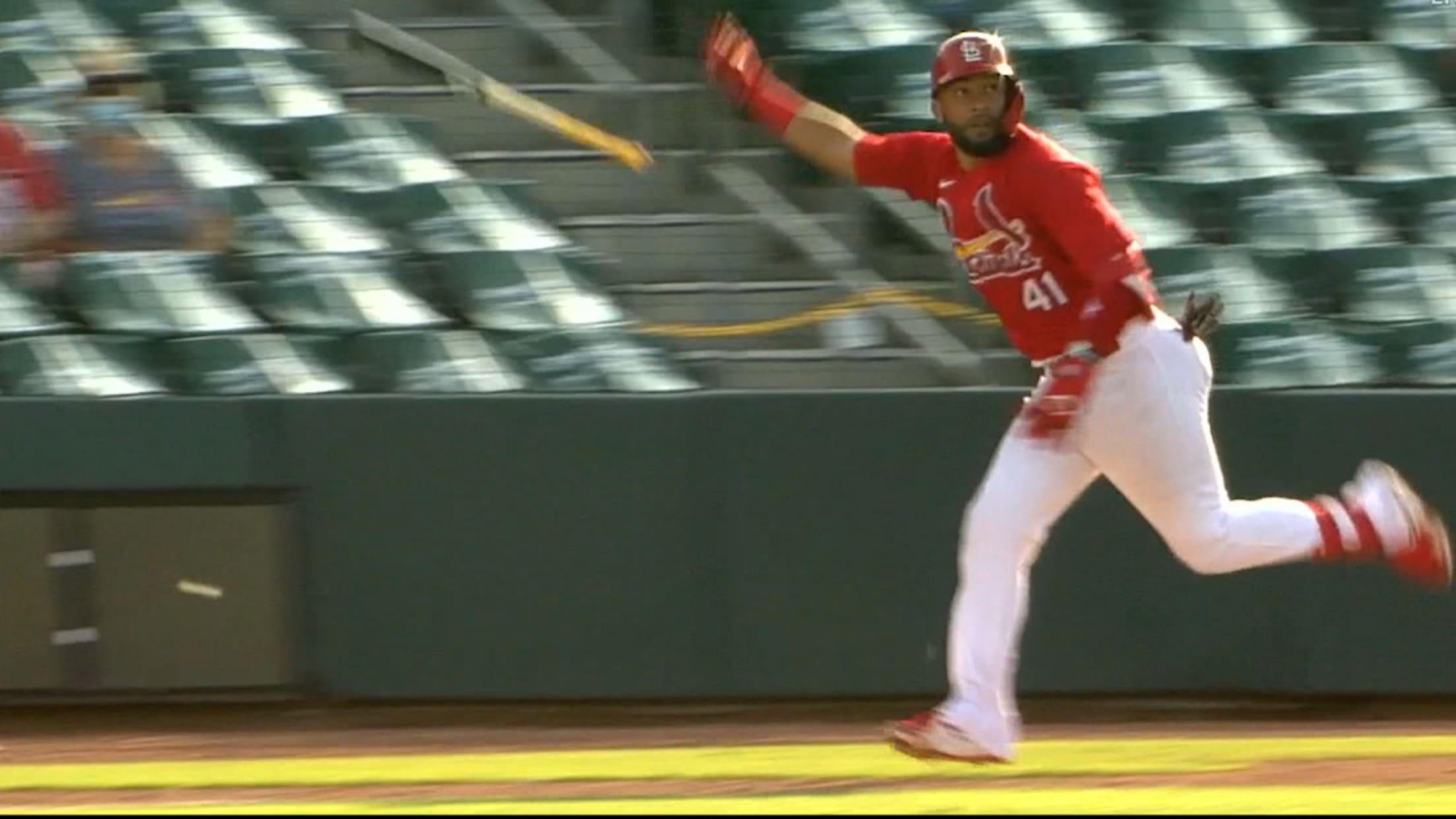 Ali Sánchez's two-run homer
