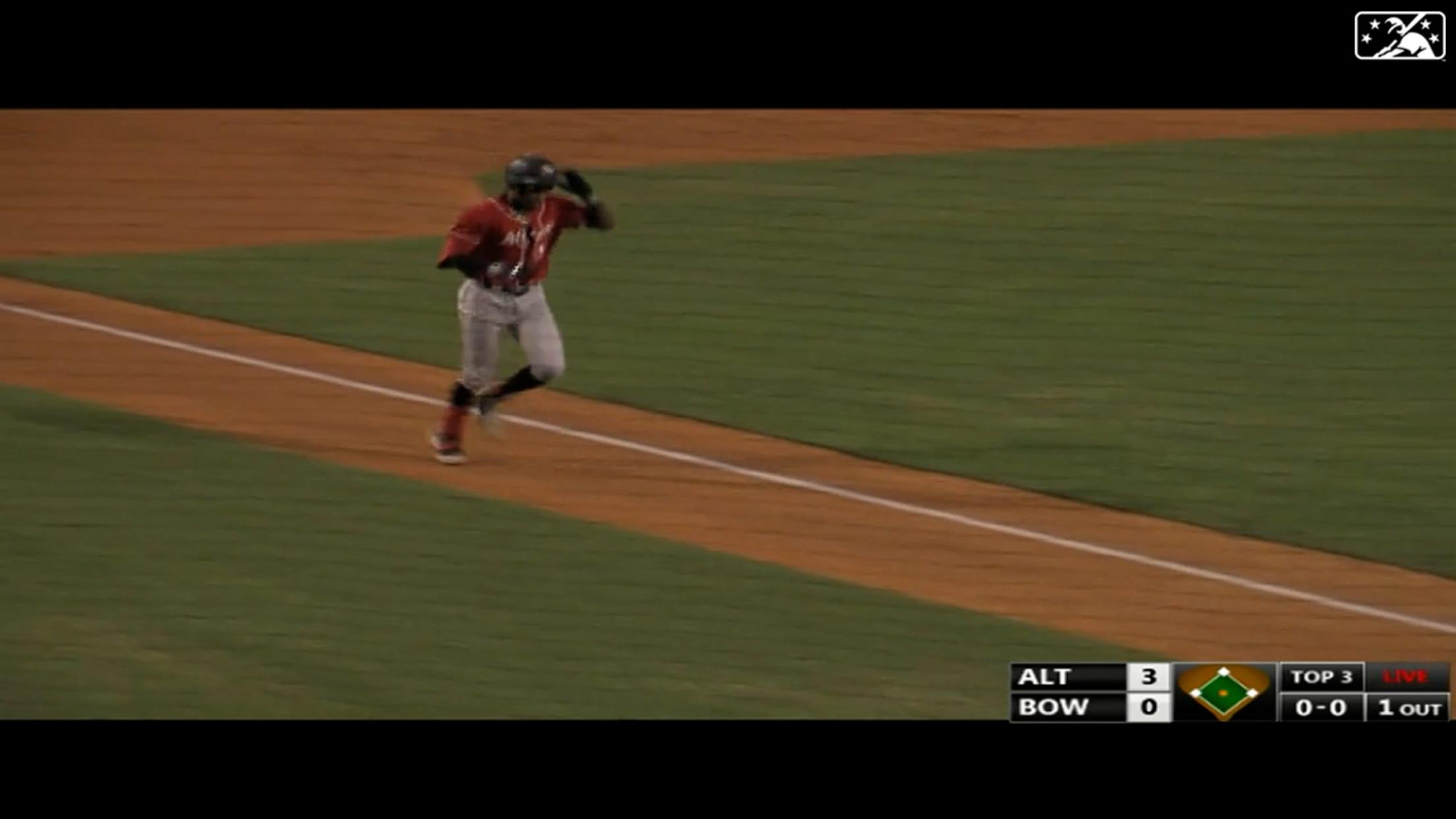 Cruz hits 12th Double-A homer