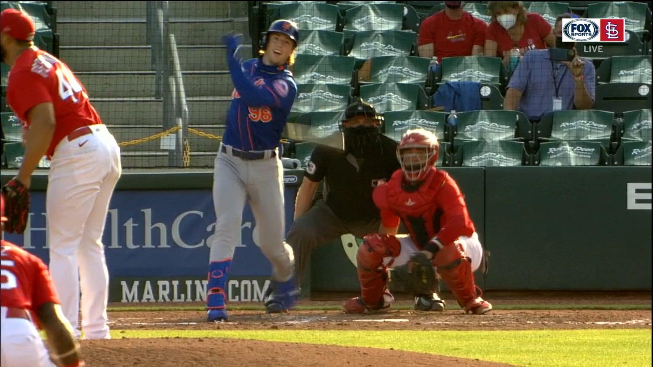 Brett Baty's two-run double