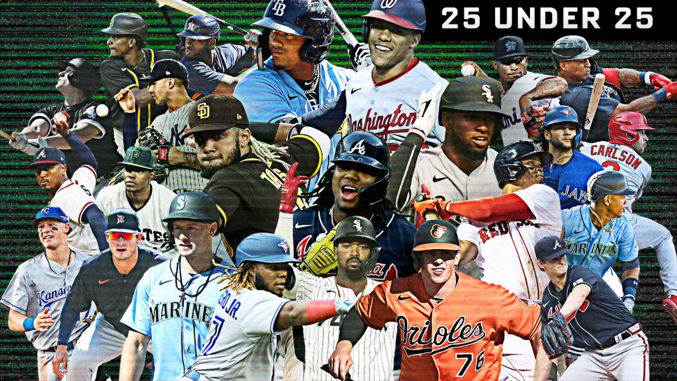 MLB's top 25 players under 25