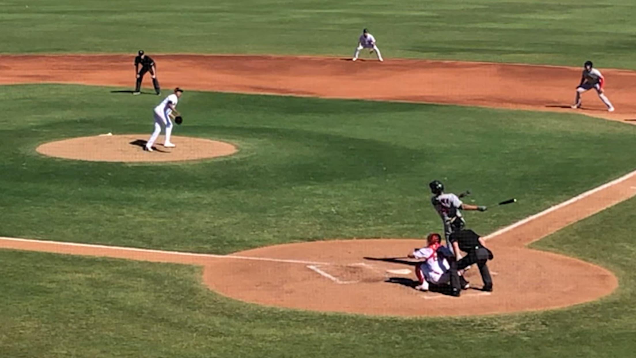 Matt Wallner's two-run home run