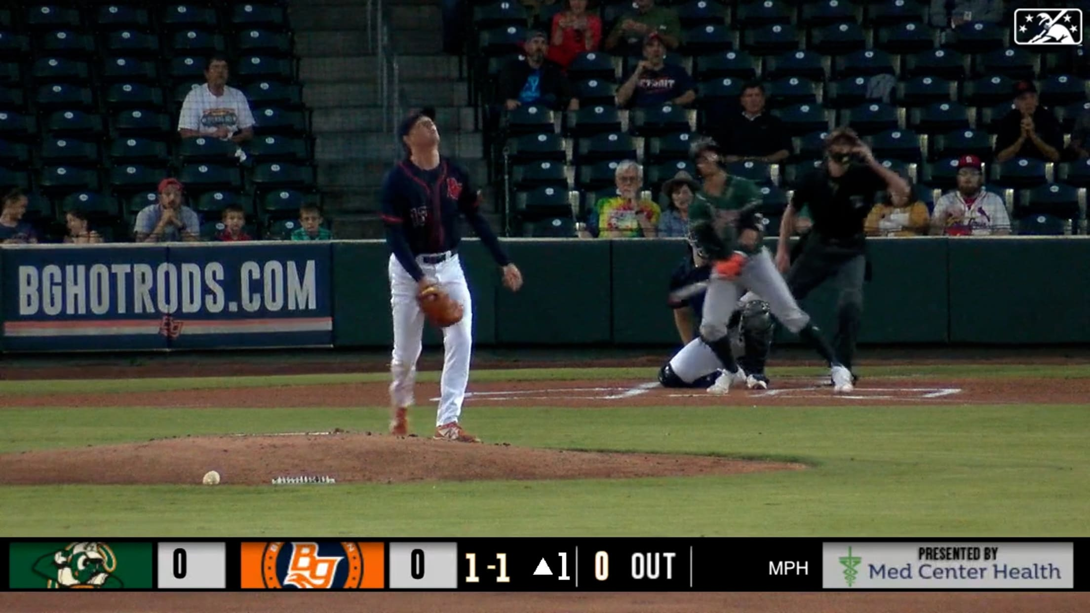 Gonzales launches a two-run homer