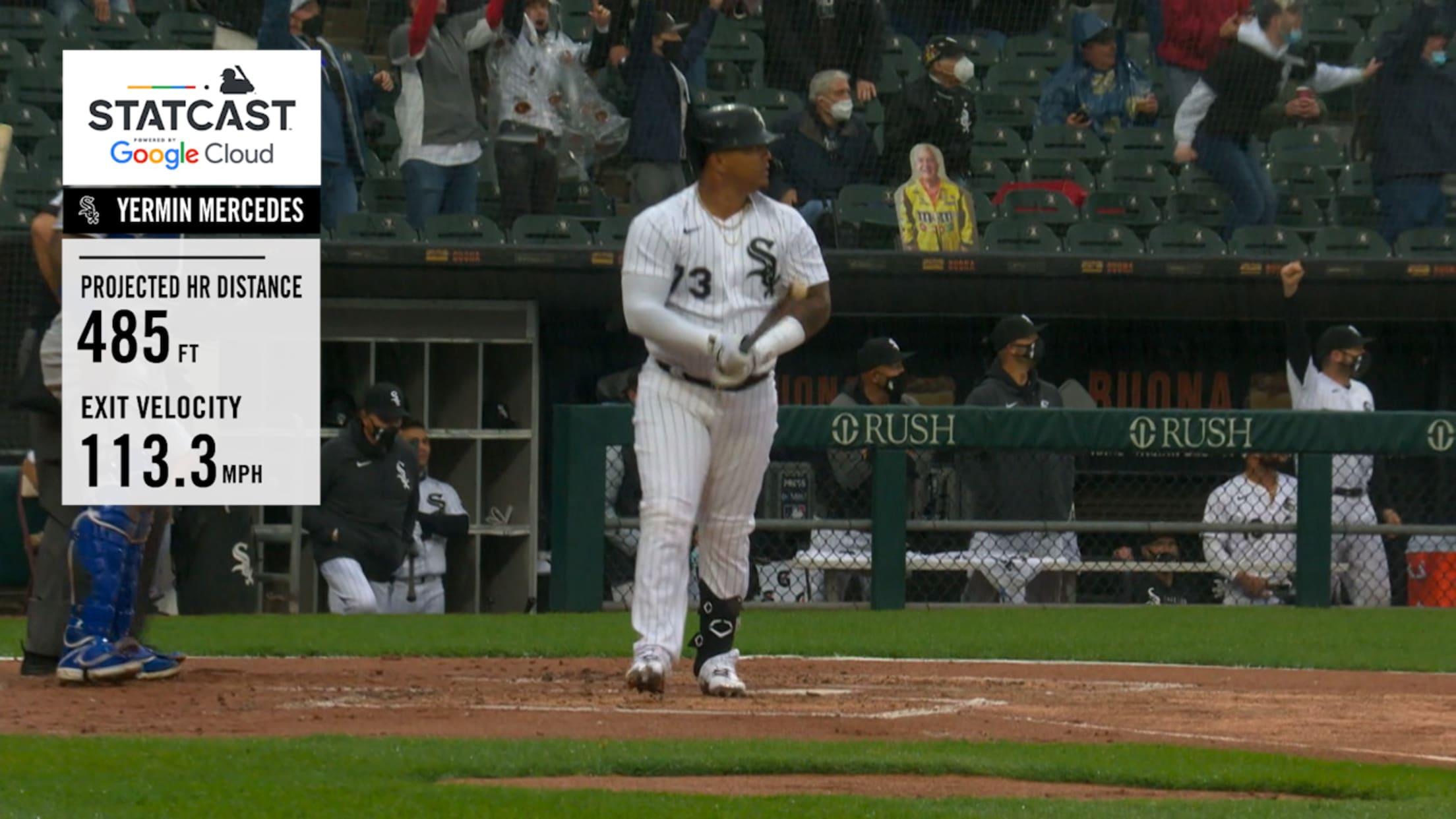 Yermín Mercedes' 485-ft. home run