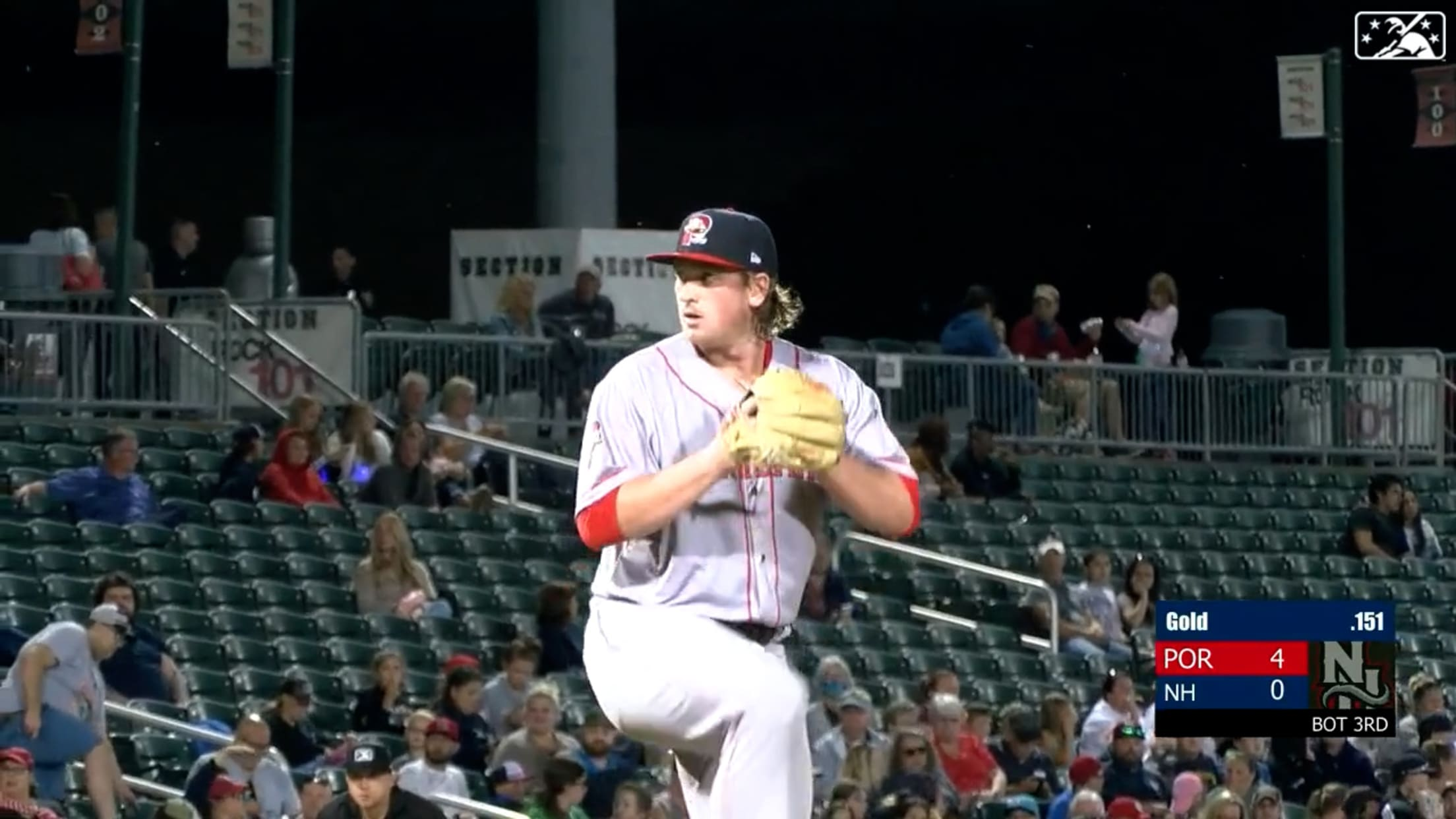 Groome K's 10 in Double-A debut