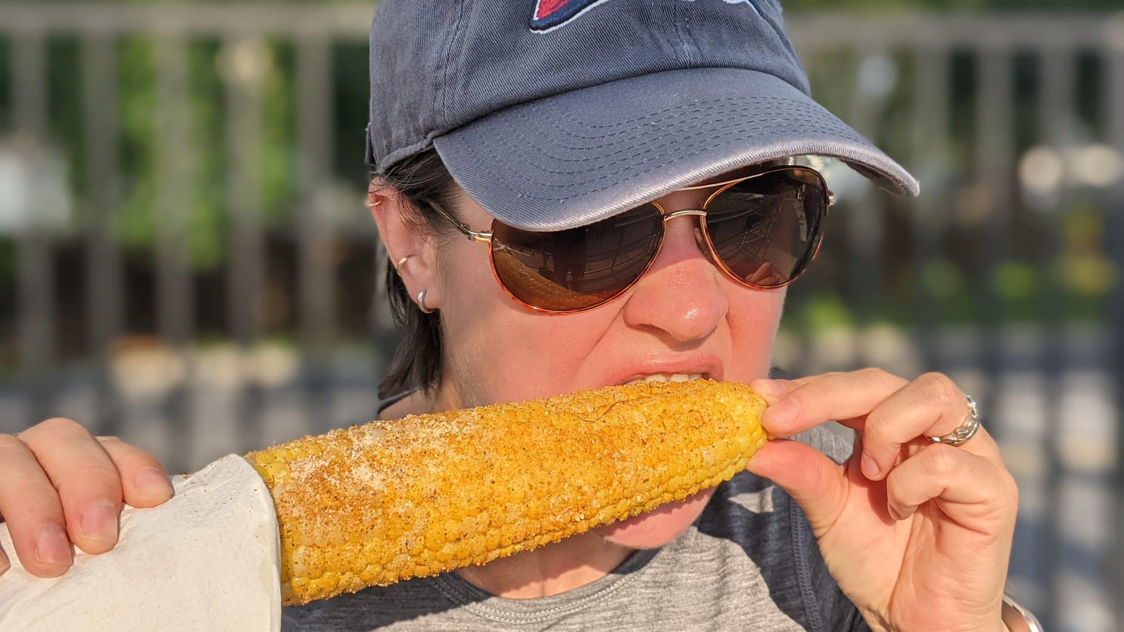 Coca Cola Park corn