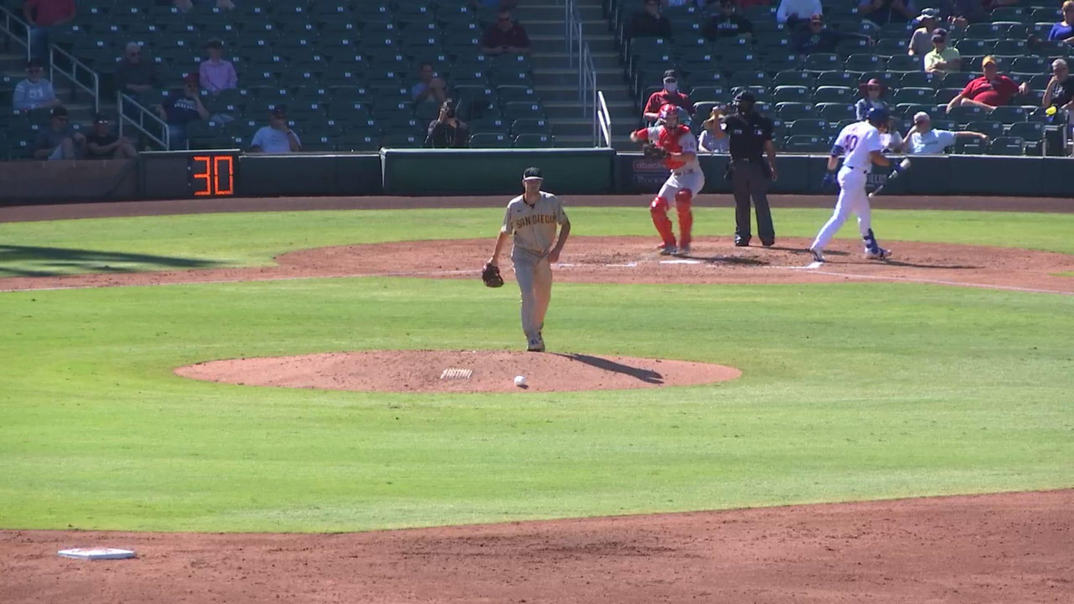 MacKenzie Gore deals five innings
