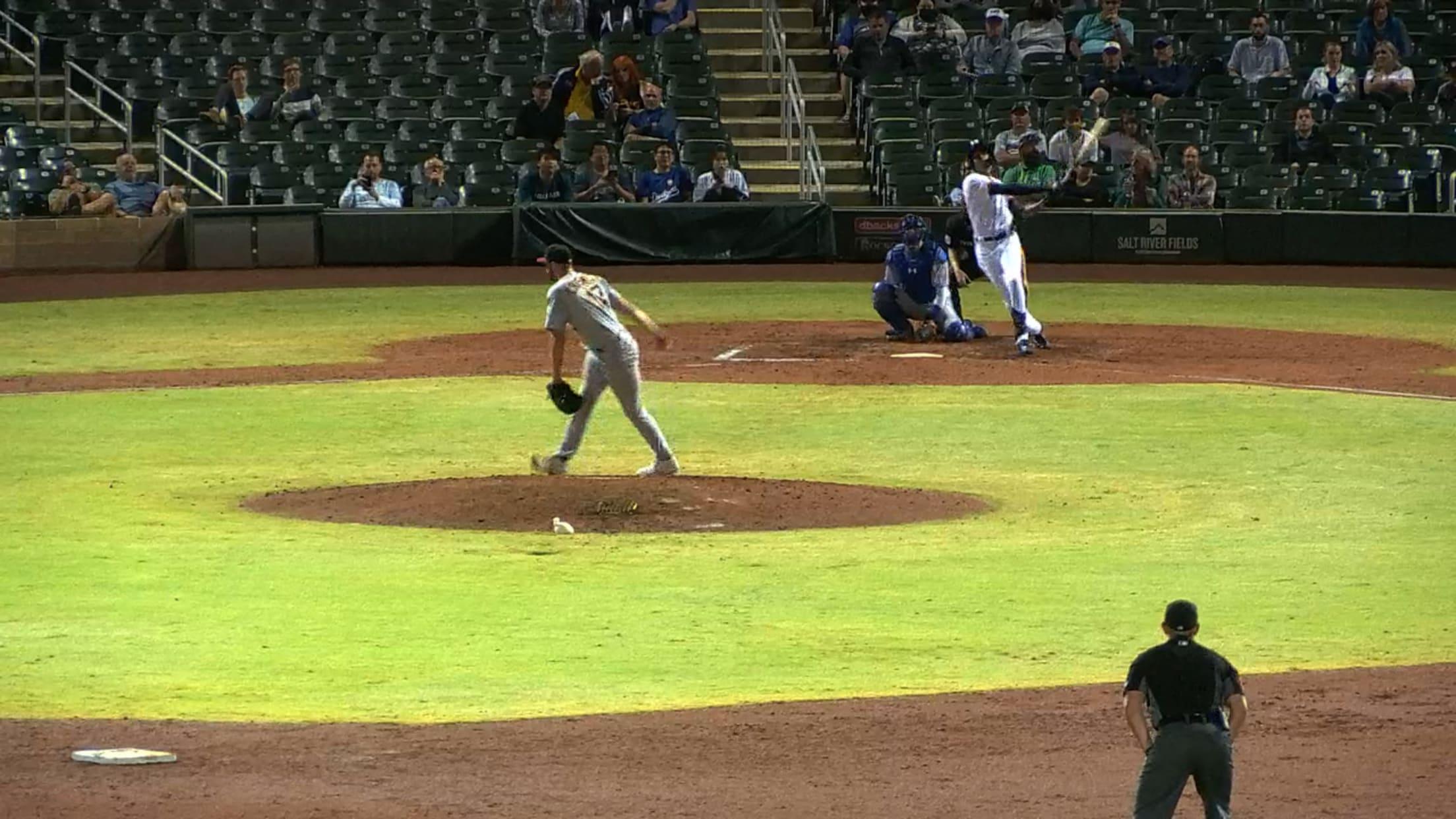 Eric De La Rosa's home run
