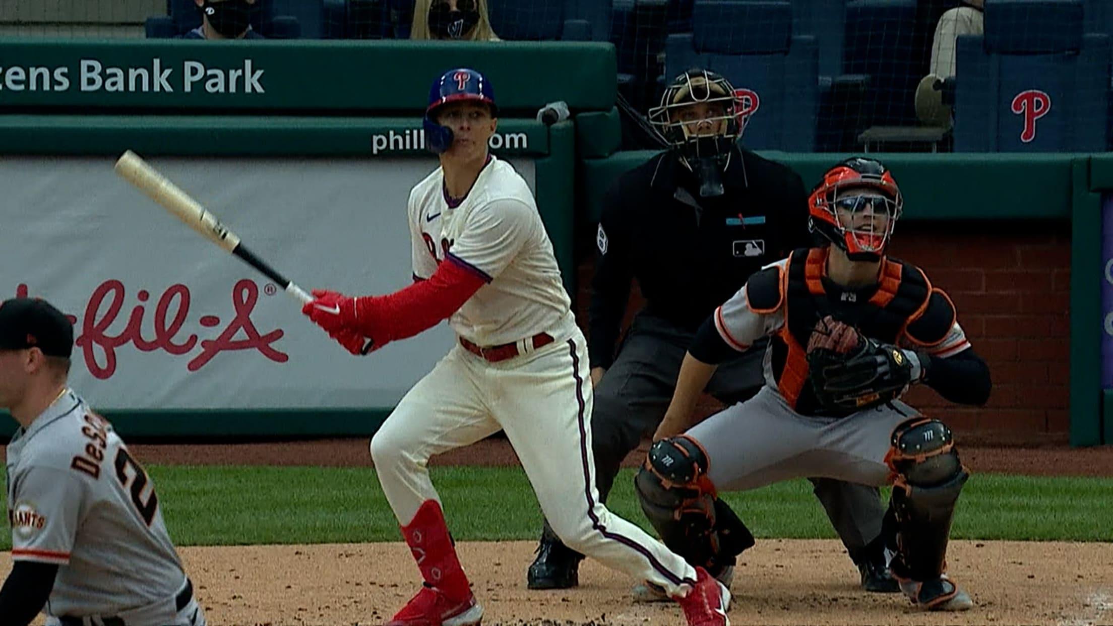 Mickey Moniak's first home run