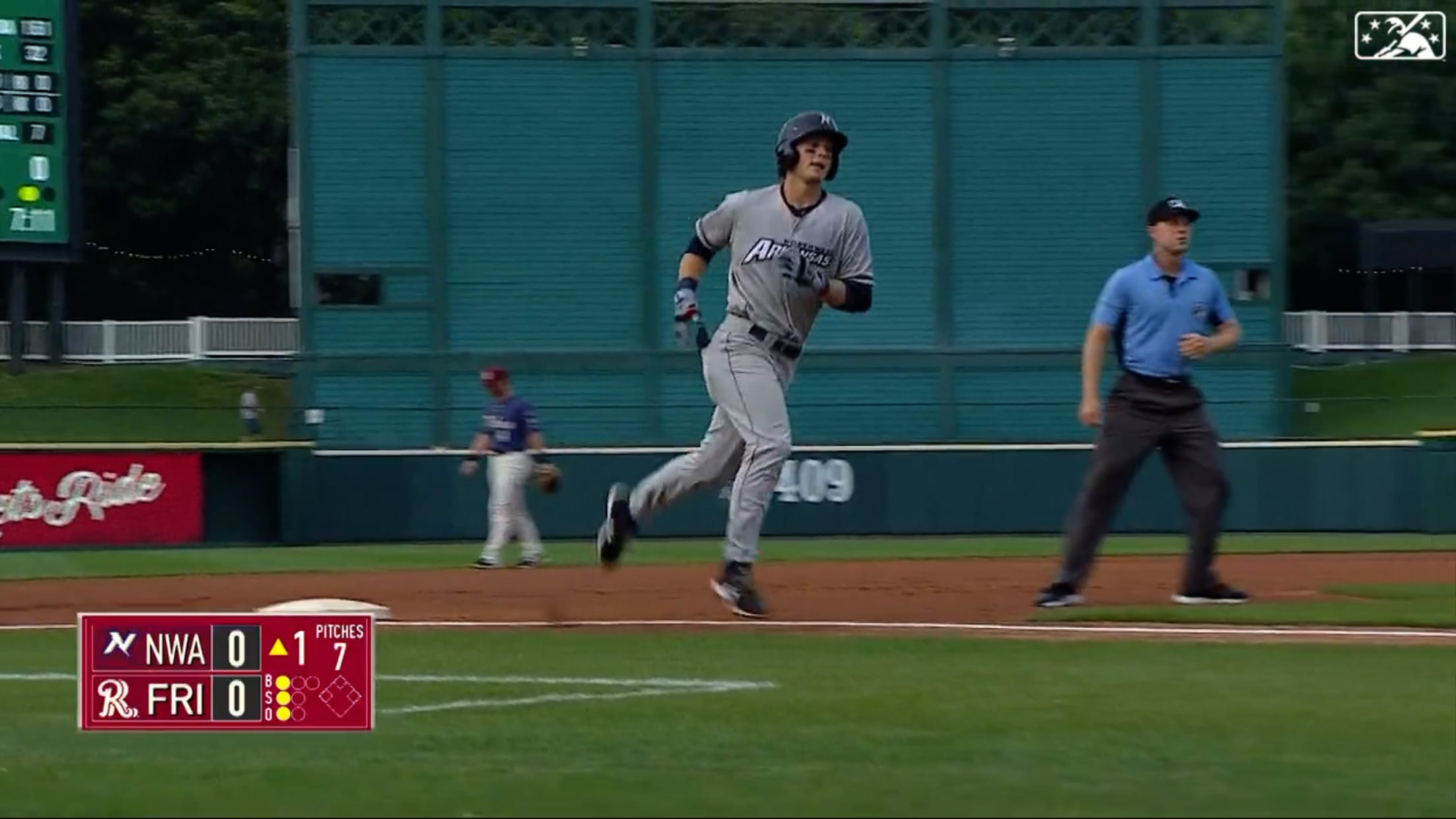 Witt's 10th HR of '21 at Double-A