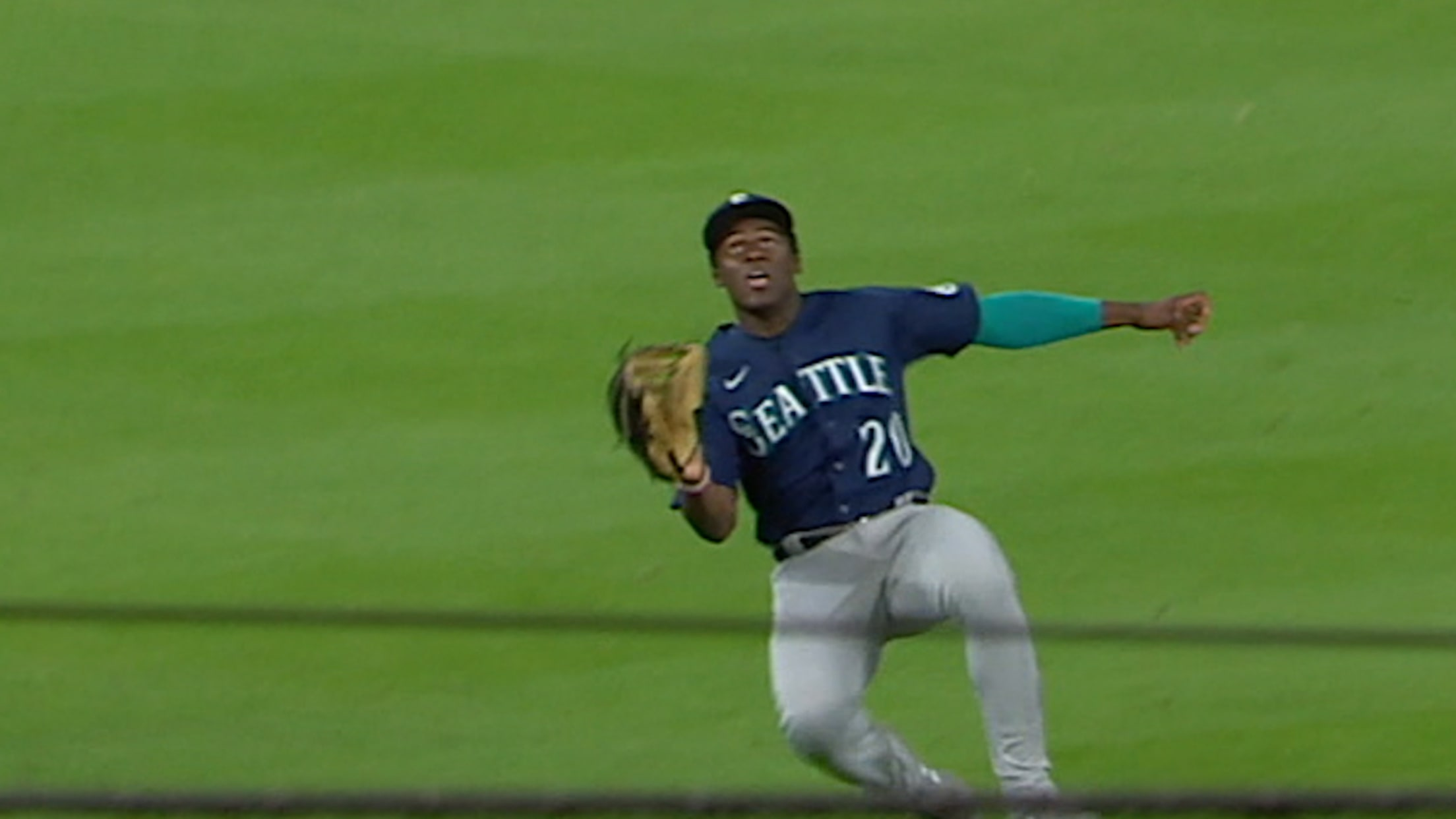 Taylor Trammell's catch ends game