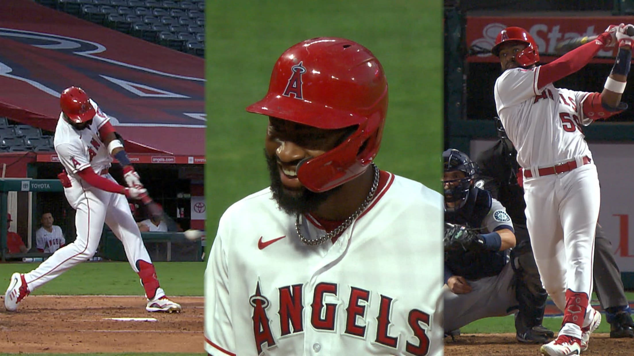 Jo Adell belts first two homers