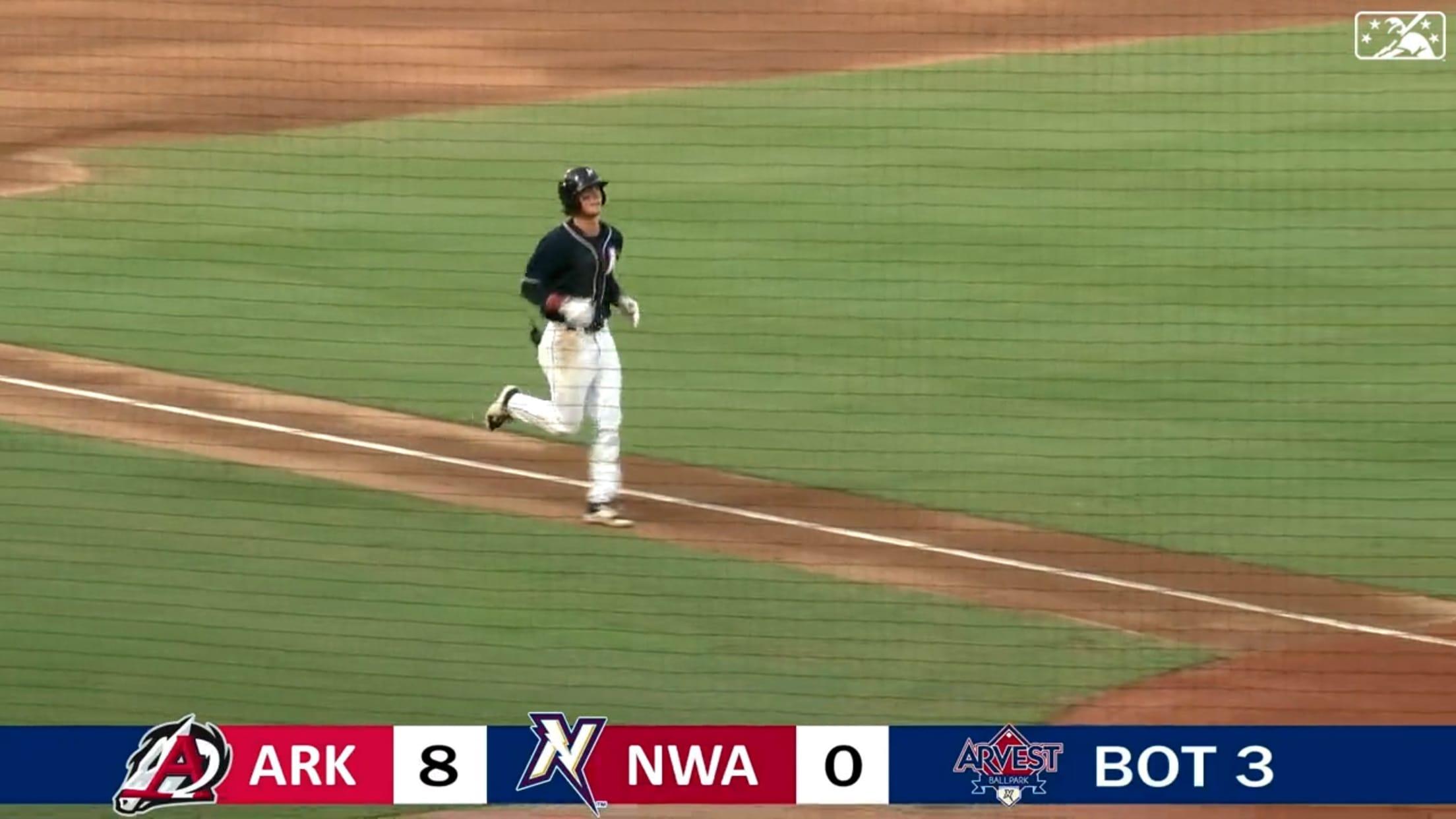 Bobby Witt's homer in Double-A