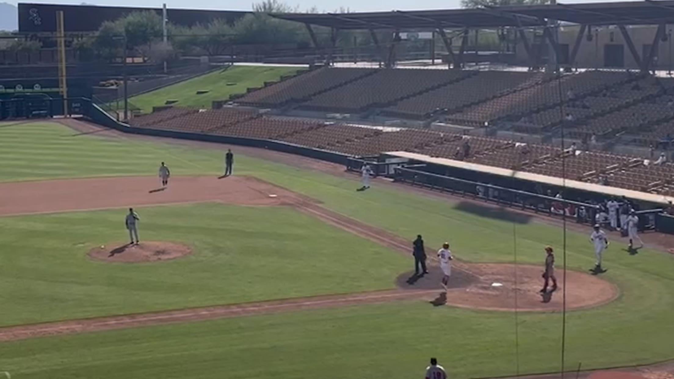 Juan Yepez's solo home run