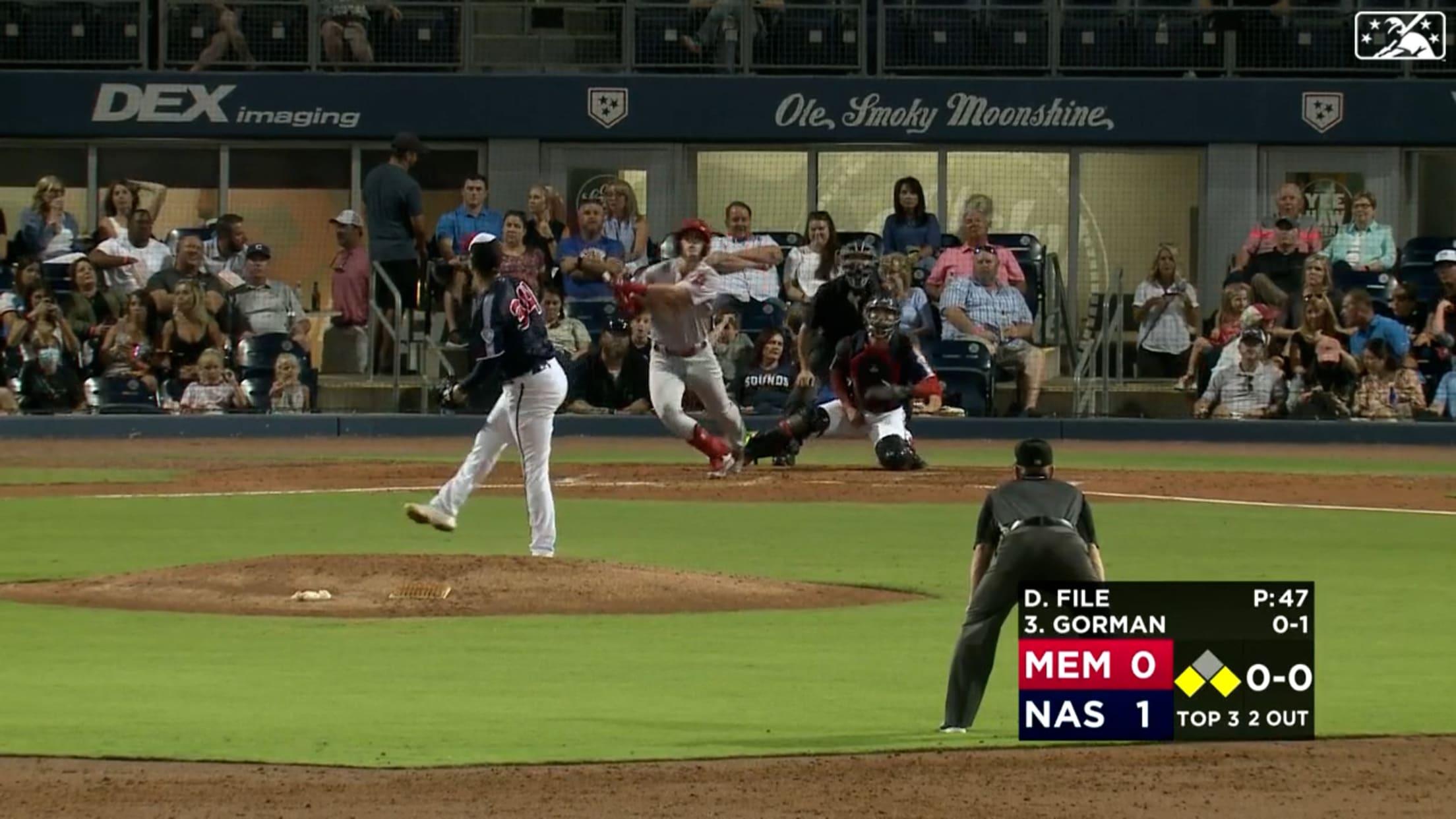 Gorman drills go-ahead homer