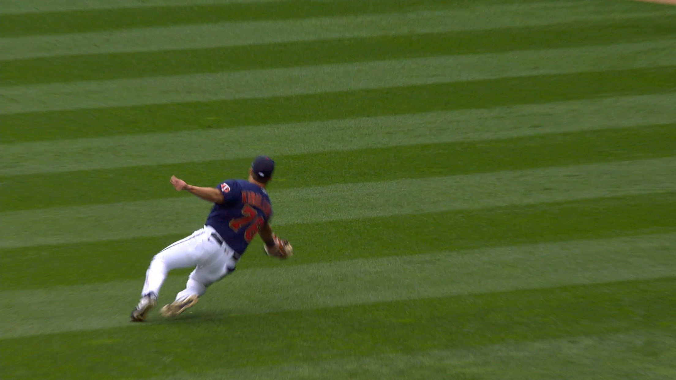 Alex Kirilloff's sliding catch