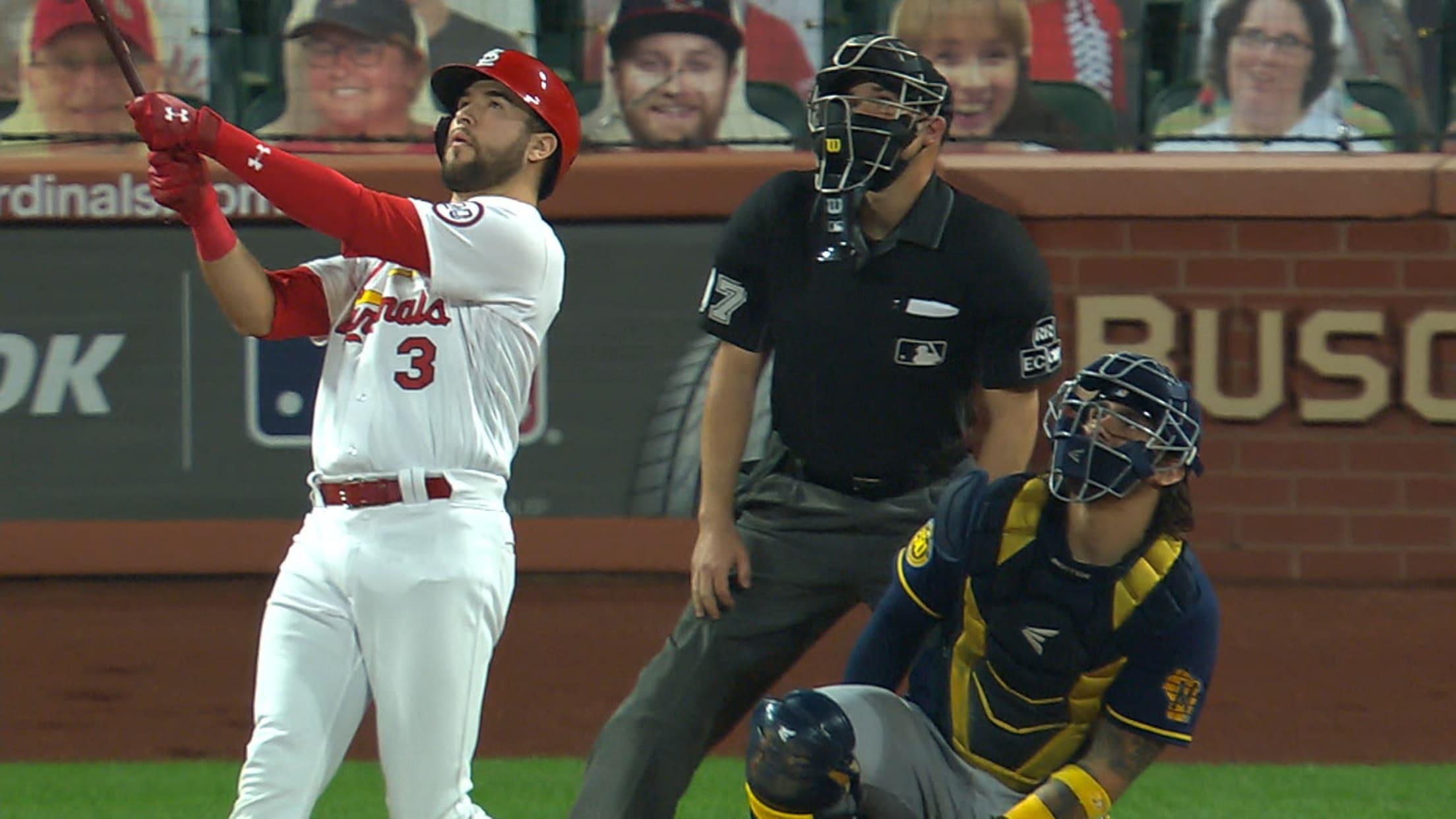 Dylan Carlson's two-run home run